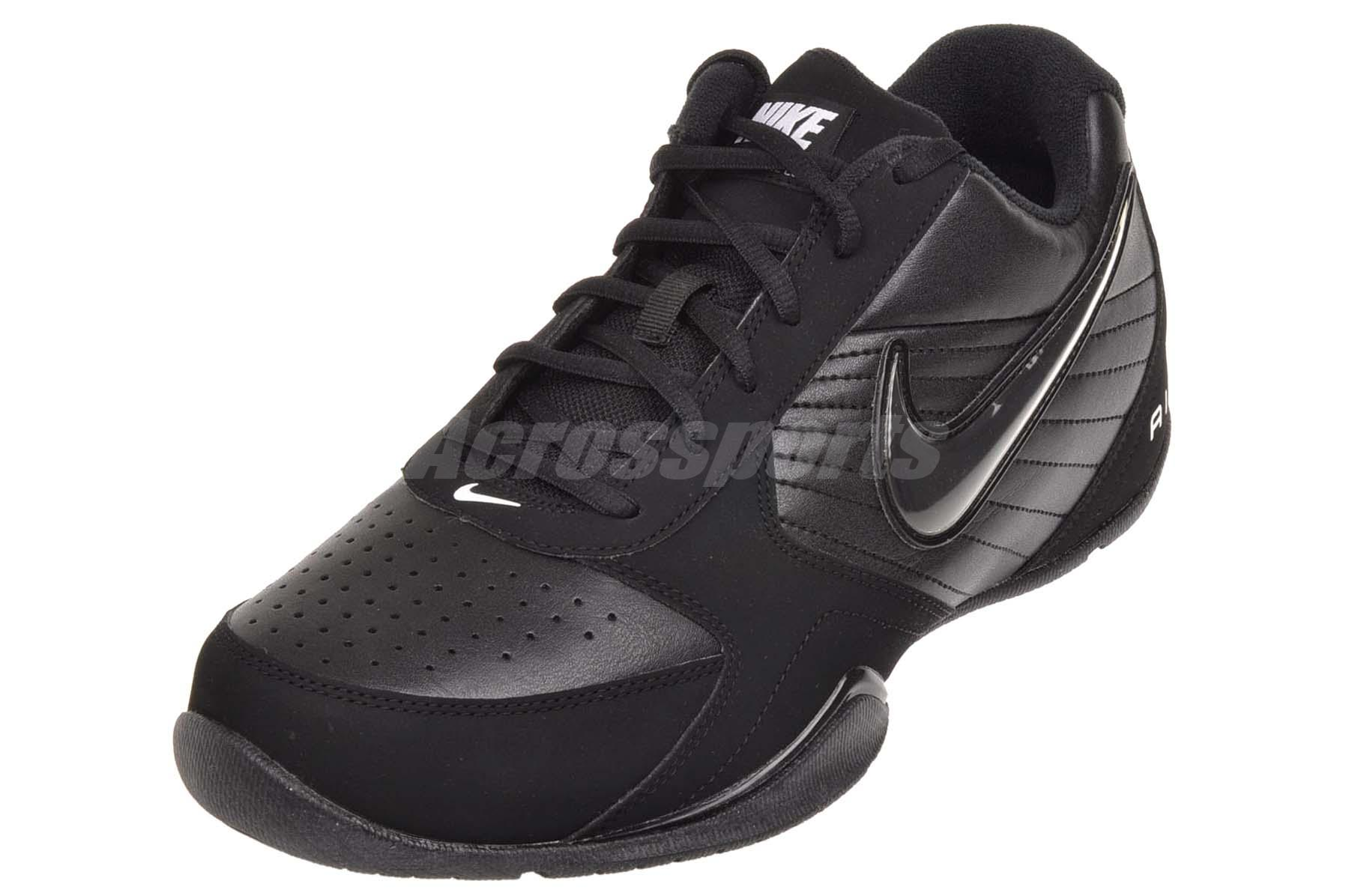 8b6362db9a74 Nike Air Baseline Low Mens Basketball Shoes Black 386240-001