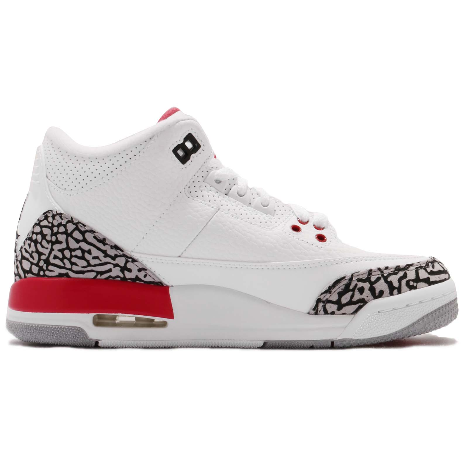 31aca2391534 Nike Air Jordan 3 Retro BG Right Foot US7Y Left Foot US6Y KID Women ...