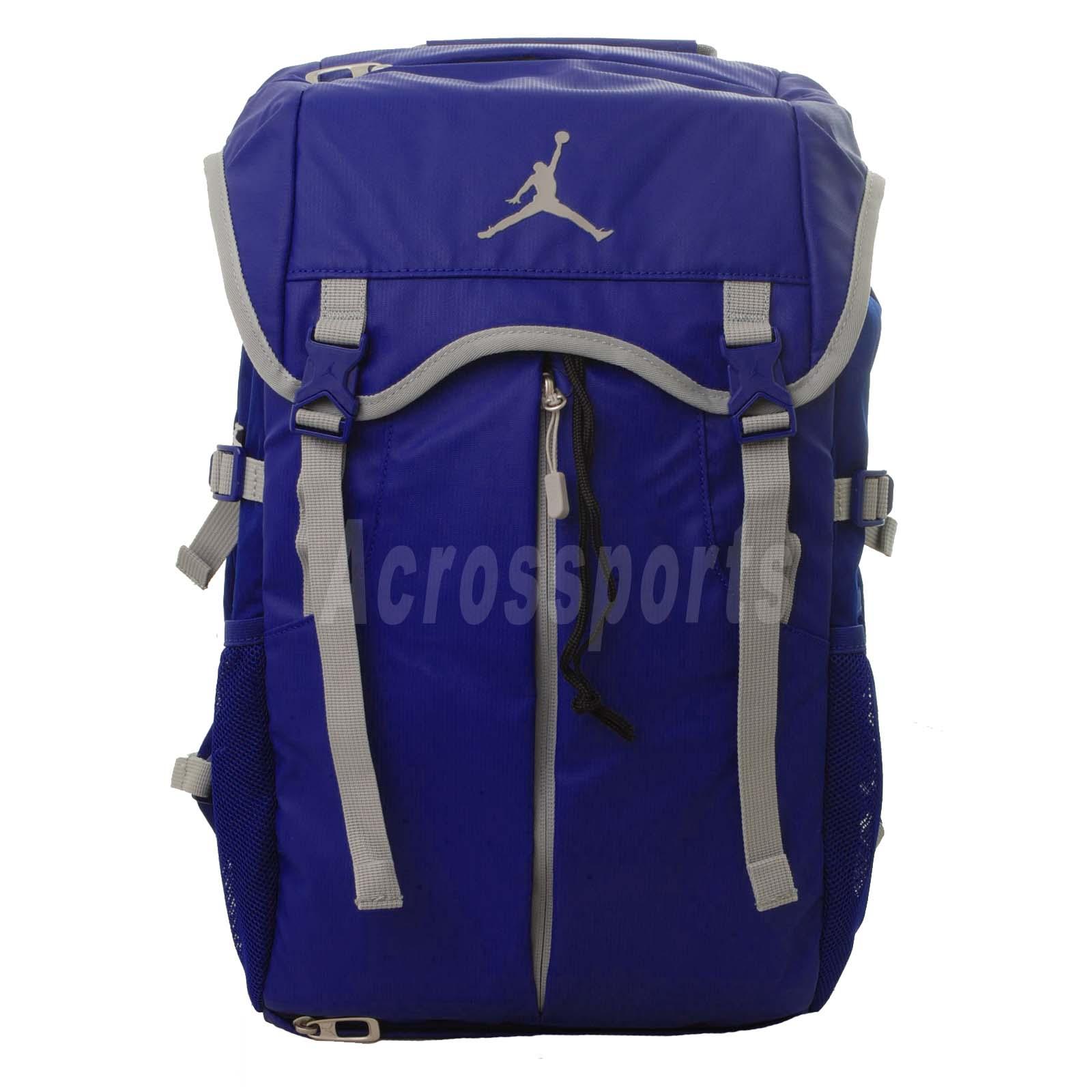 Nike Jordan Takeover Top Loader Backpack Blue Grey ...