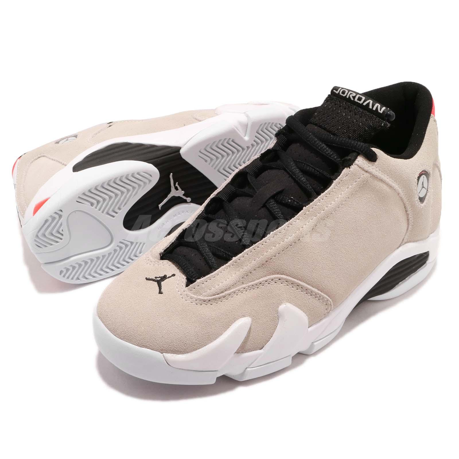 7b0557fac0d361 Details about Nike Air Jordan 14 Retro BG Desert Sand Kid Women Basketball  Shoes 487524-021