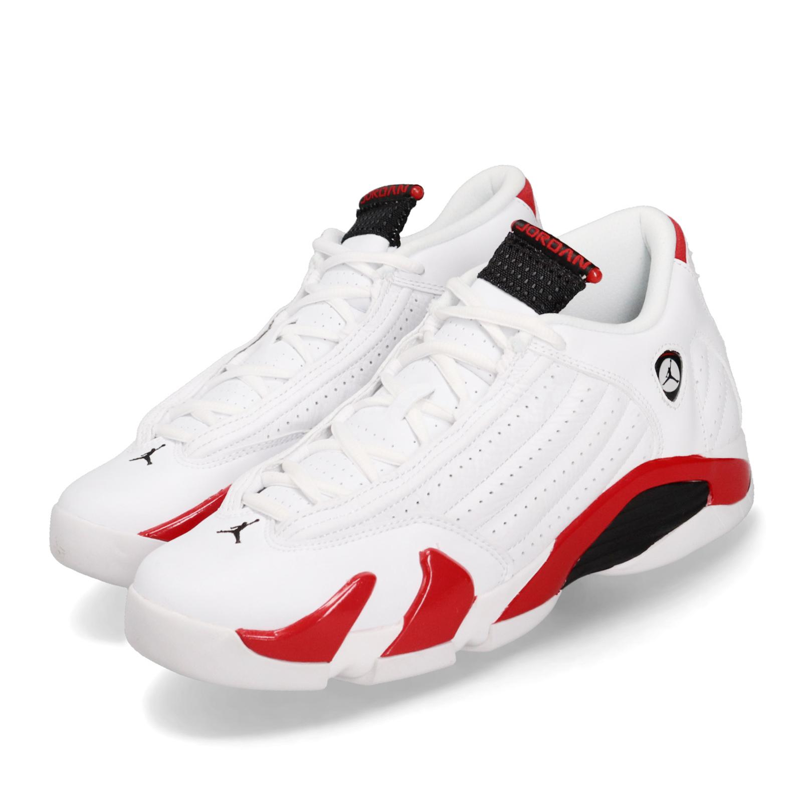 timeless design d2134 b85b5 Details about Nike Air Jordan 14 Retro BG Rip Hamilton White Red AJ14 XIV  OG GS 487524-100
