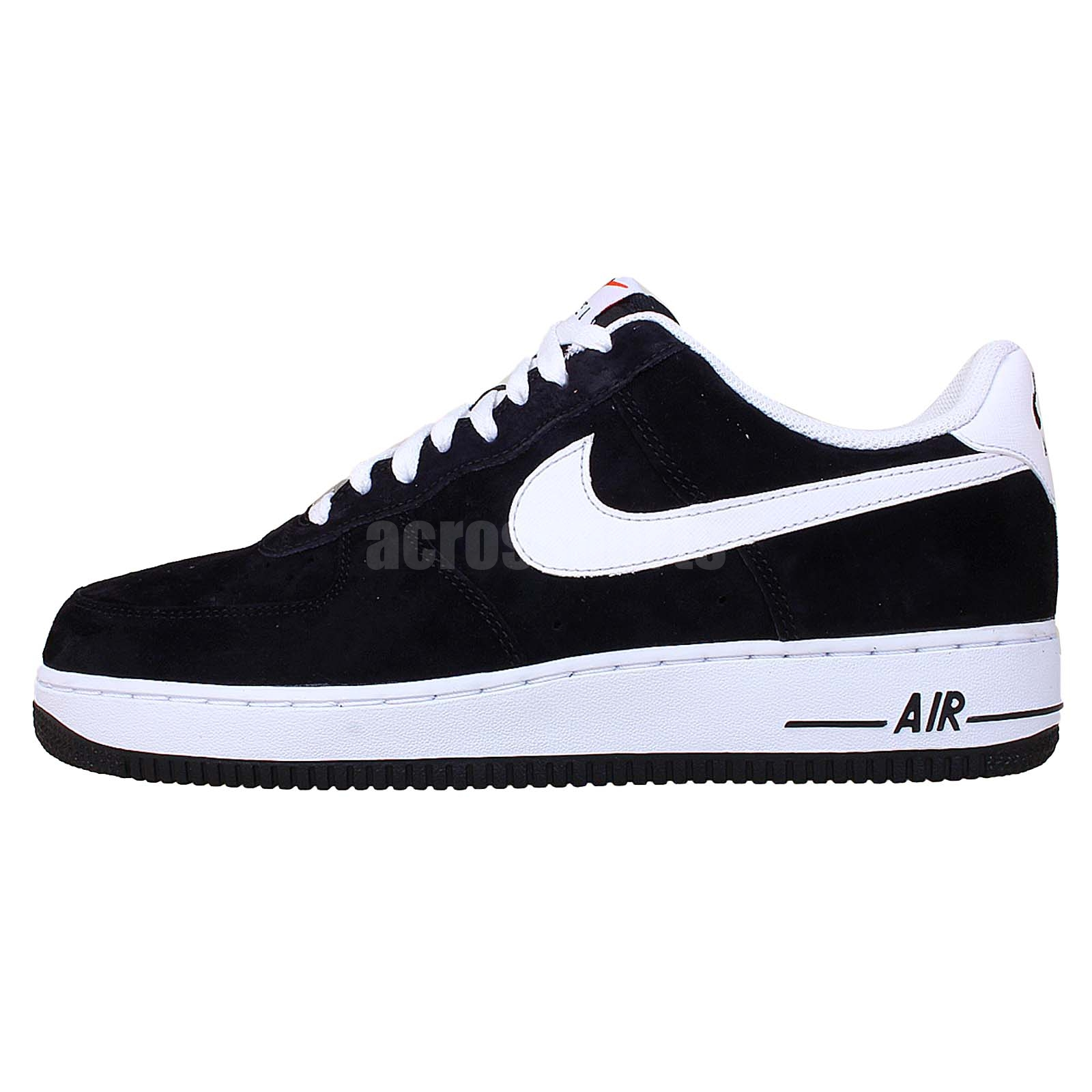 nike air force 1 black suede white 2014 mens casual fashion shoes af1 sneakers ebay. Black Bedroom Furniture Sets. Home Design Ideas