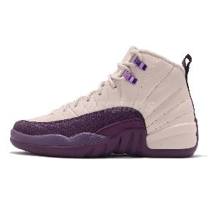 804c2a89ff9 Nike Air Jordan 12 Retro XII Desert Sand Purple Women / GS Junior ...
