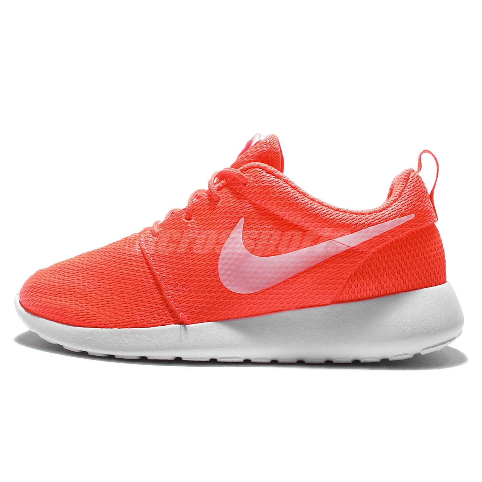 finest selection babff 94226 Nike Wmns Roshe Run One Total Crimson Women Running Shoes Sneakers 511882- 818