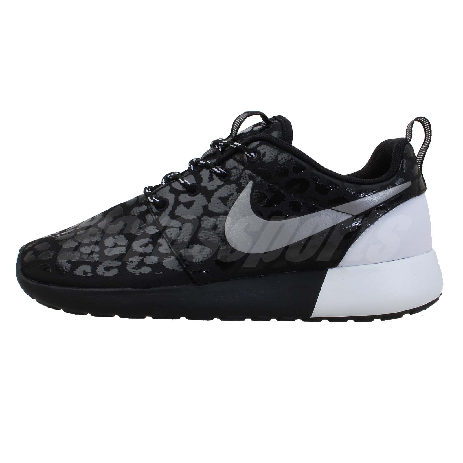 Nike Silver Leopard Print Shoes