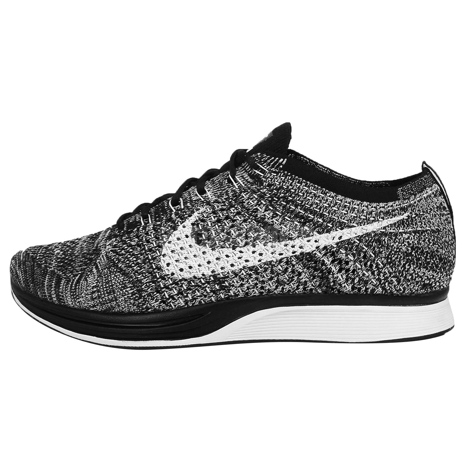 nike flyknit racer cookies cream oreo black white mens. Black Bedroom Furniture Sets. Home Design Ideas