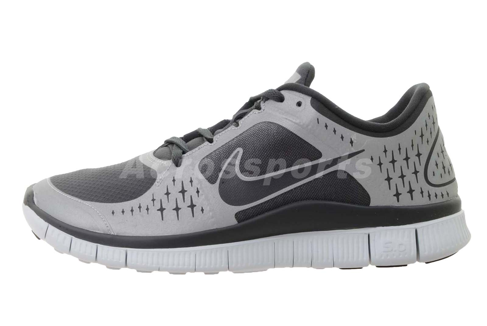 nike free run 3 shield black silver h2o repel mens running. Black Bedroom Furniture Sets. Home Design Ideas