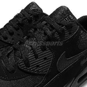 the latest d638d 247f4 ... nike air max une prime - Nike Air Max 90 Essential Triple Black Mens  Shoes Hommes ...