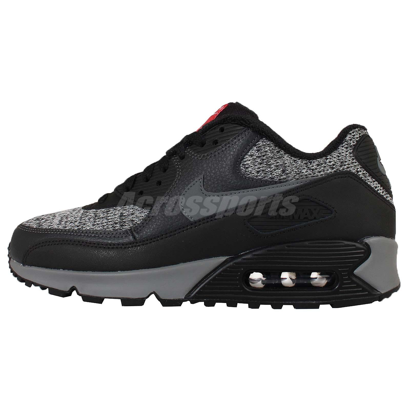 Nike Air Max 87 Black Gray Mens Running Trainers Shoes