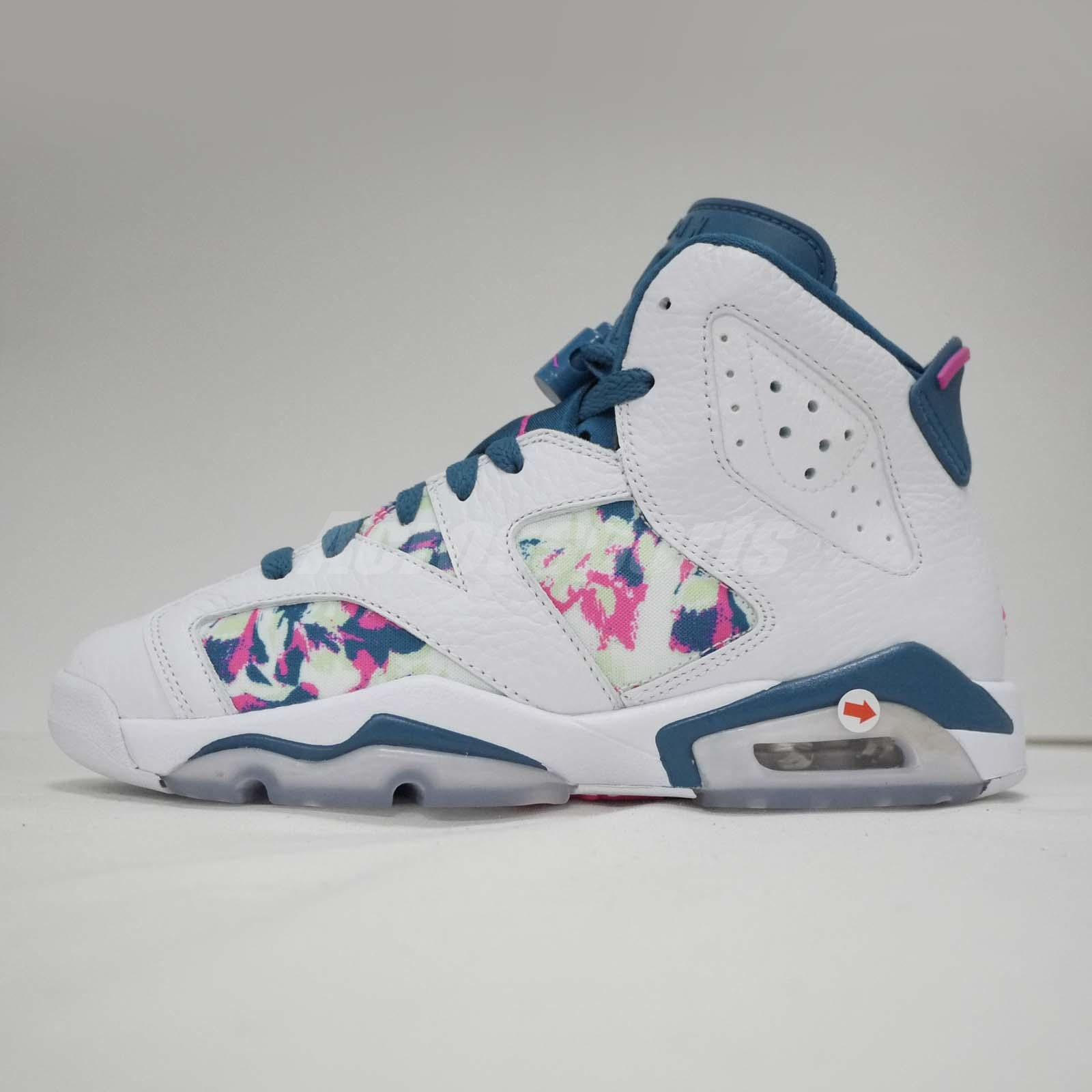 25b217b4ff7497 Nike Air Jordan 6 Retro GG VI Left Foot With Discoloration Kid Shoes  543390-153