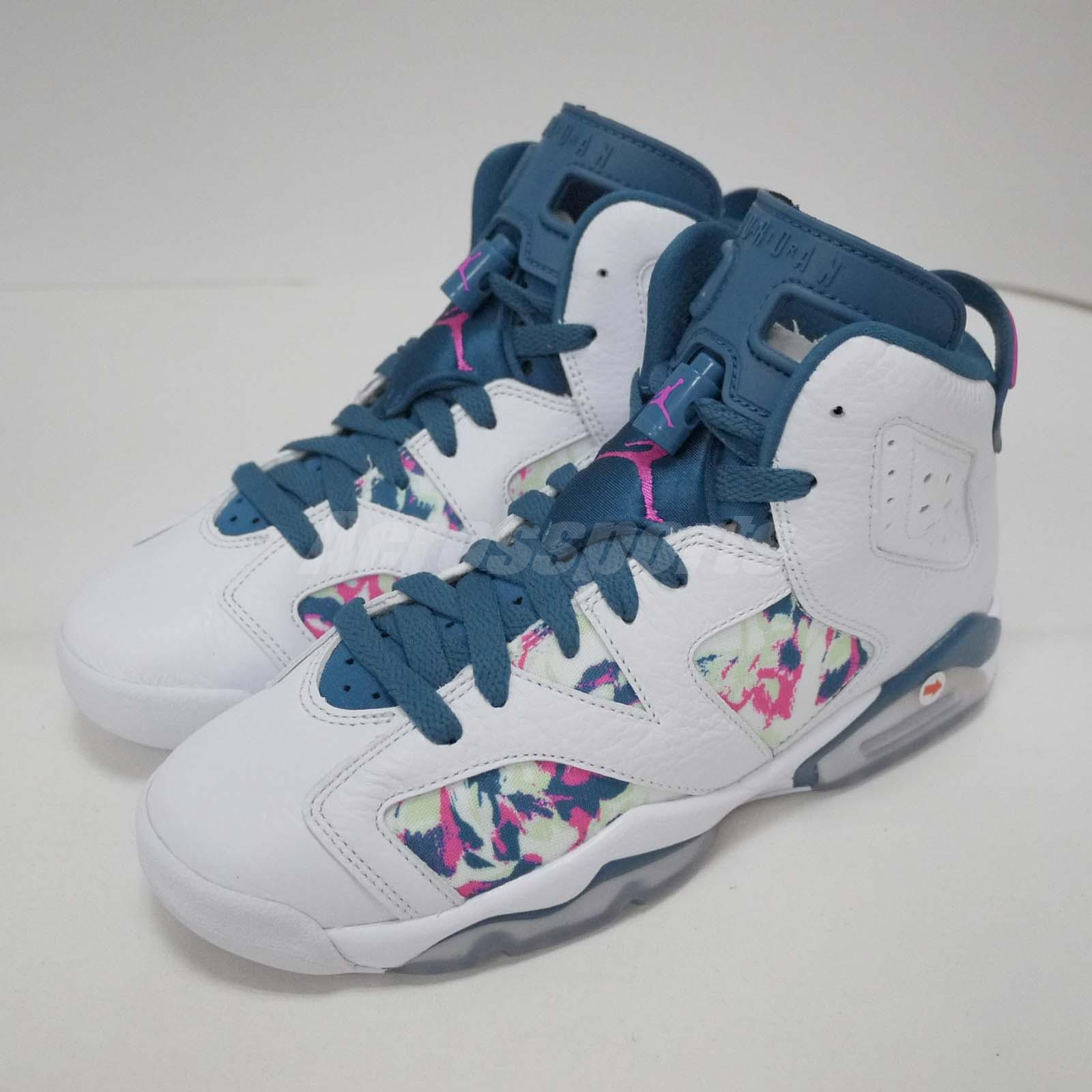 add724564da1 Details about Nike Air Jordan 6 Retro GG VI Left Foot With Discoloration  Kids US4.5 543390-153
