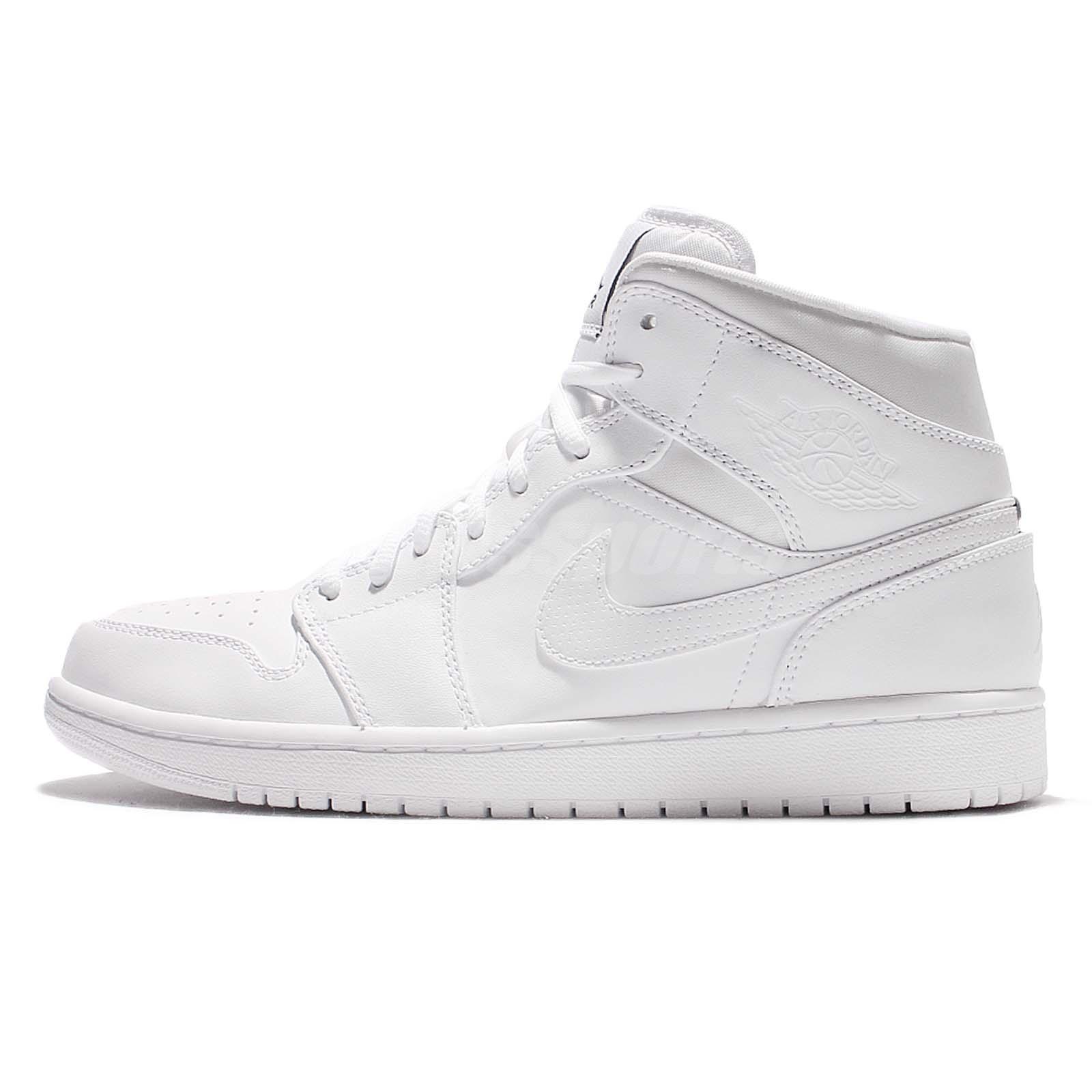 Basket Nike Air Jordan 1 Mid - 554724-110 slSOm7SY5