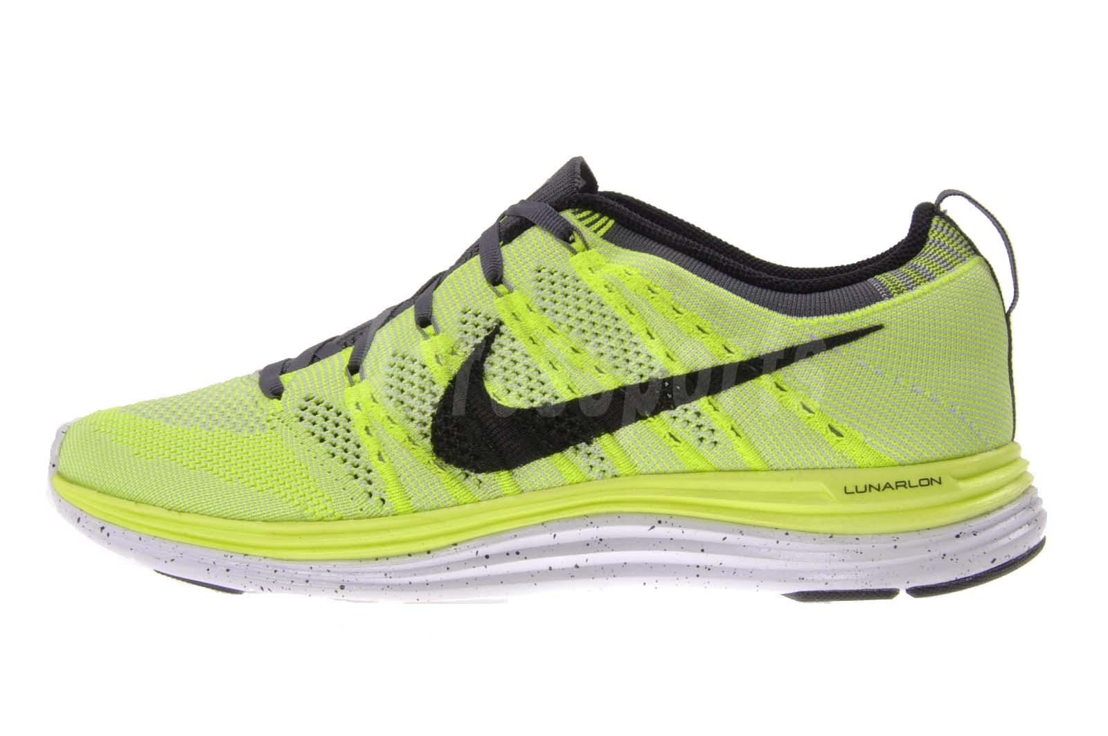Nike Flyknit One+ Mens Lunar 1 Lunarlon New Lightweight ...