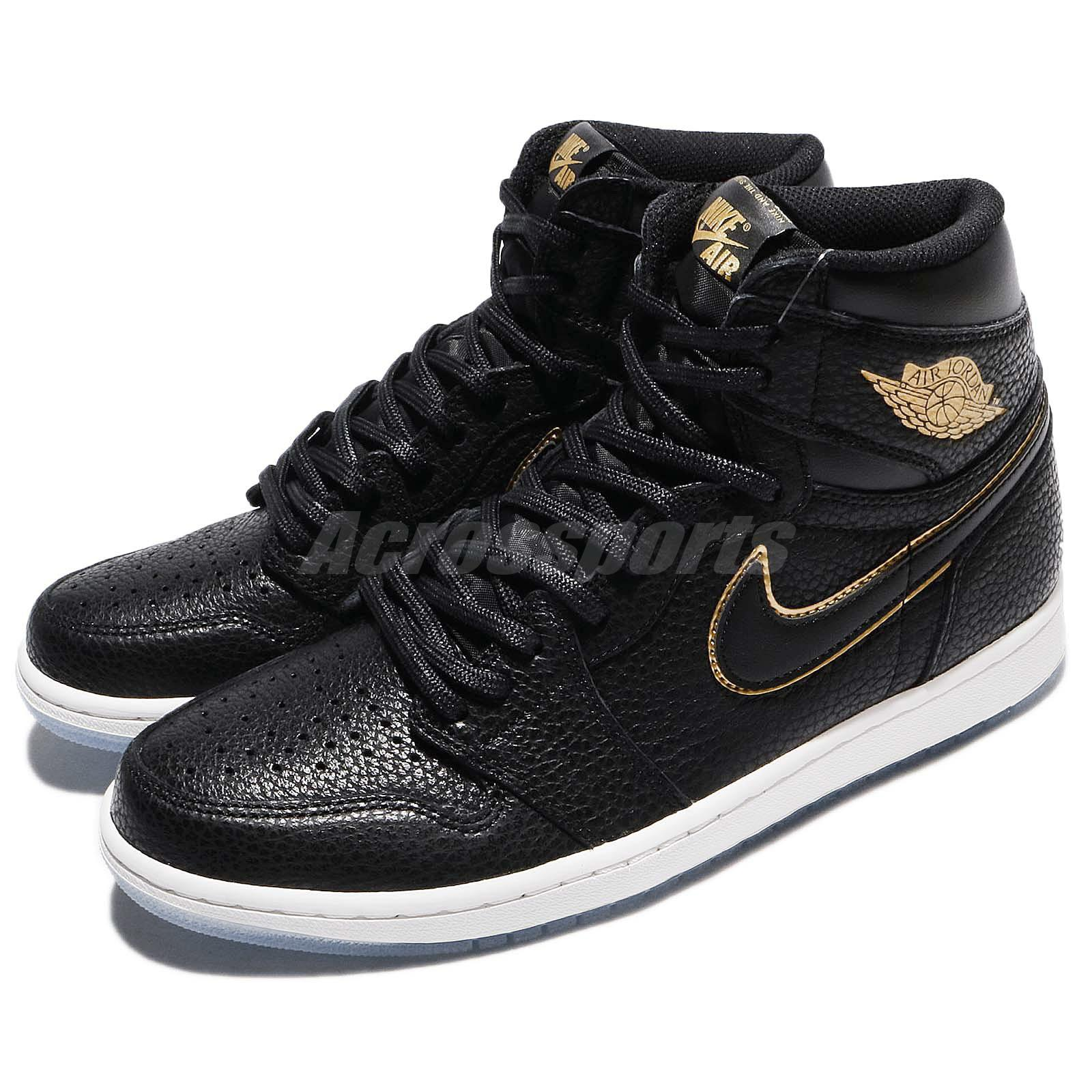 1485434ddcd6 Details about Nike Air Jordan 1 Retro High OG LA All Star City Of Flight  Black AJ1 555088-031