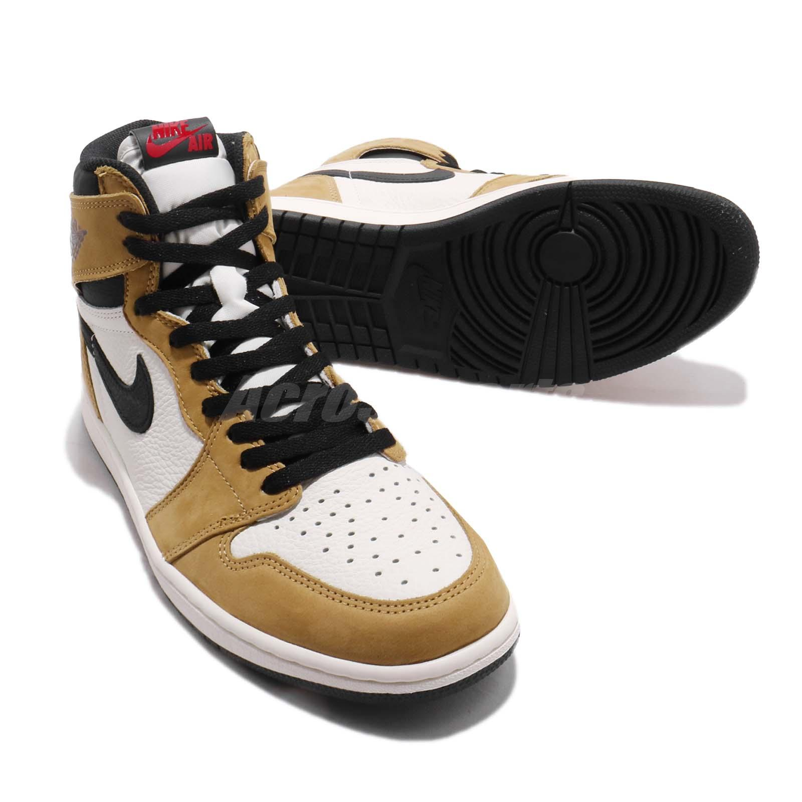 7851b86781278f Nike Air Jordan 1 Retro High OG Rookie of The Year ROTY Gold Harvest ...