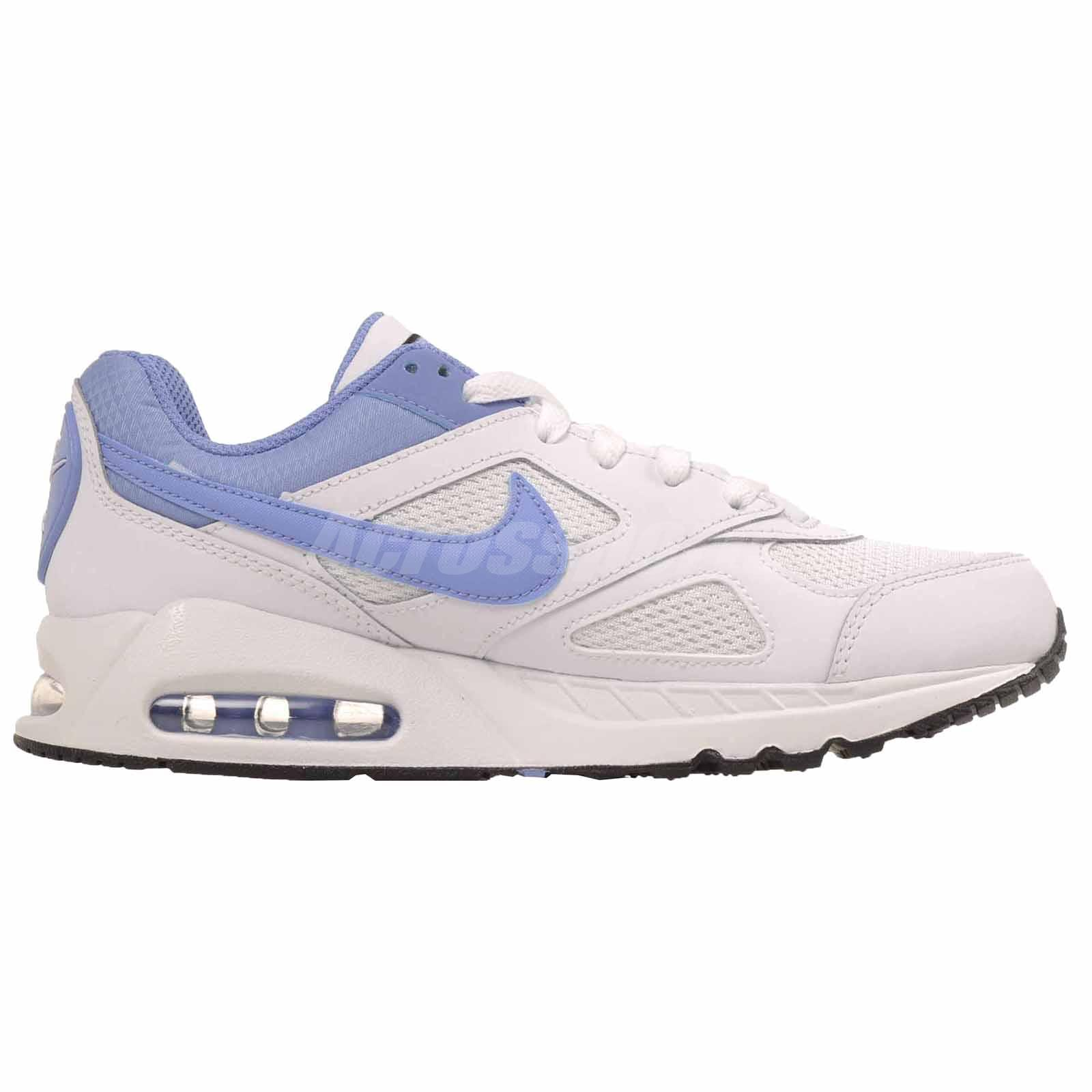 Details about Nike Air Max IVO (GS) Running Kids Youth Womens Shoes White Blue 579998 142