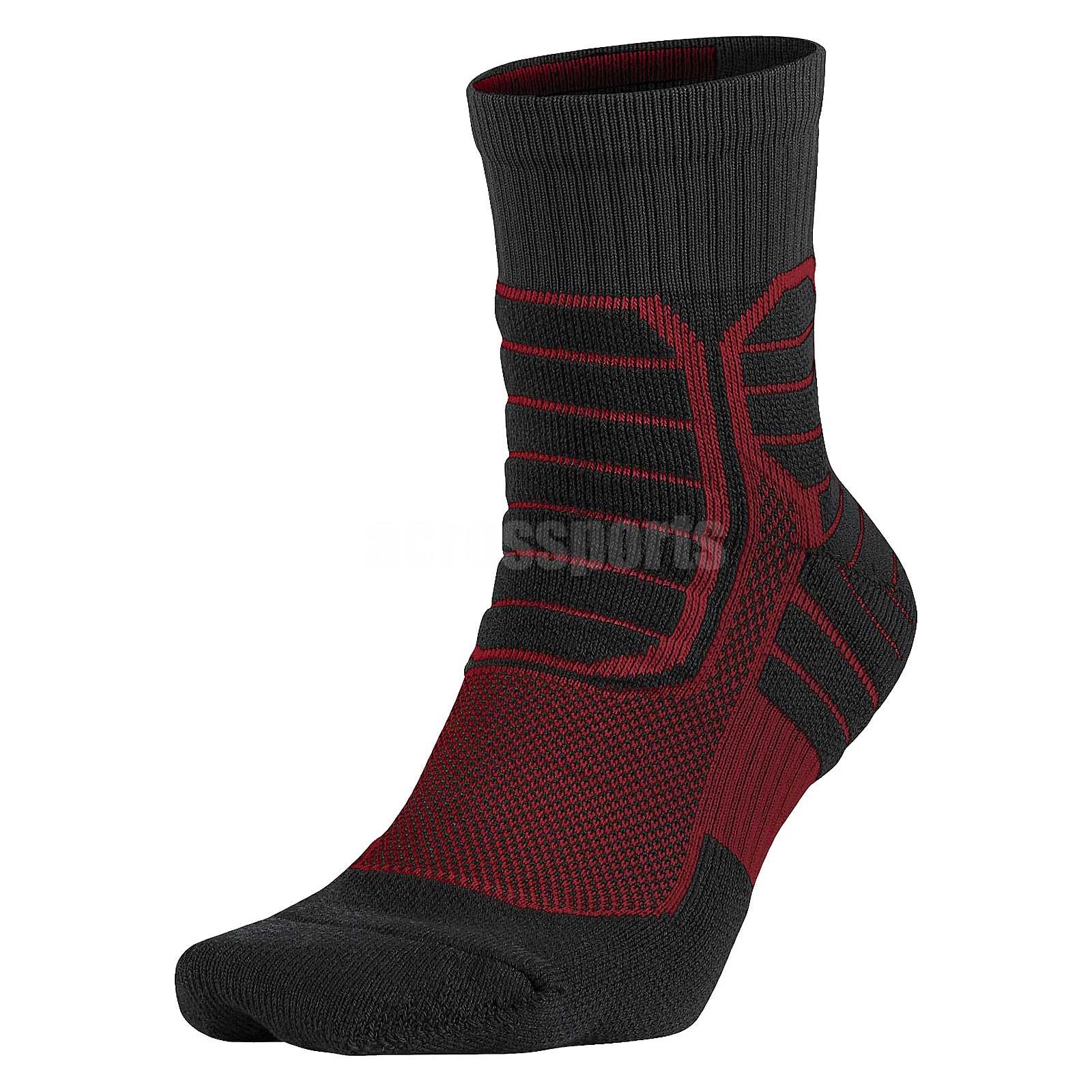 Nike Air Jordan Jumpman Black Red Basketball Mens High ...