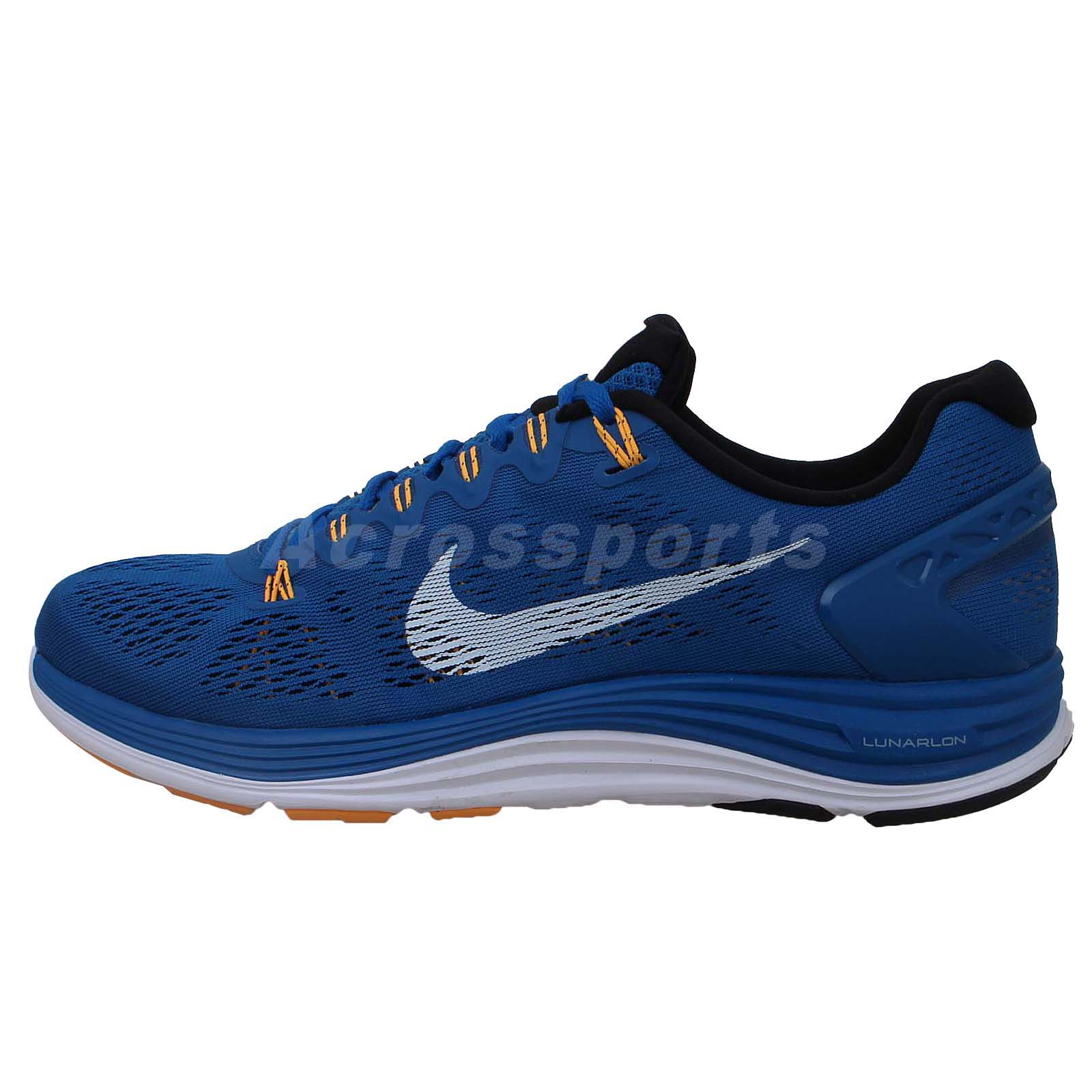 Nike Lunarglide  Black Running Shoes