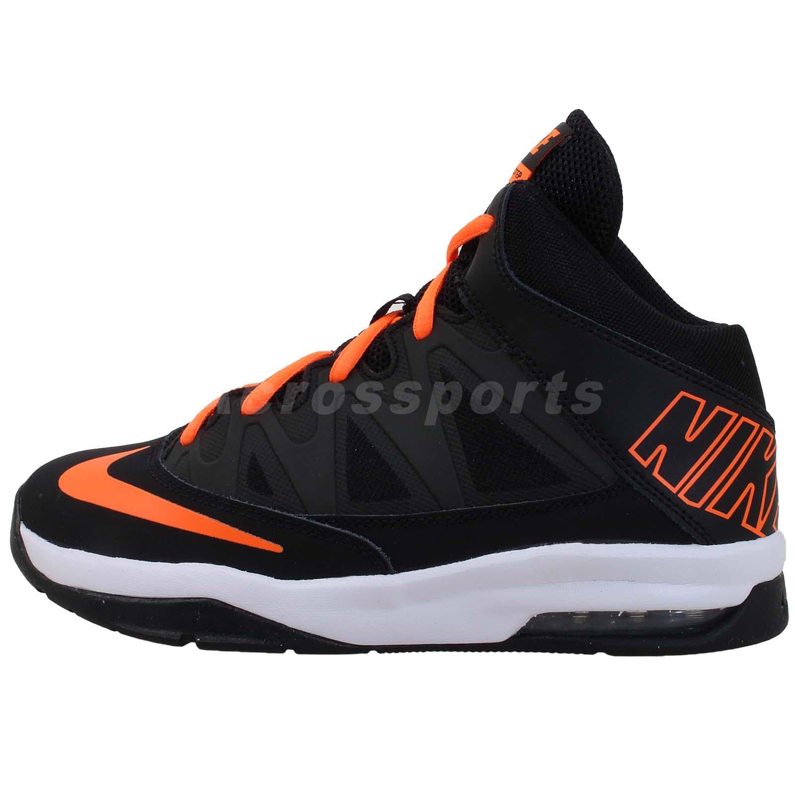 Nike Air Max Stutter Step GS Black Orange Boys Youth ...