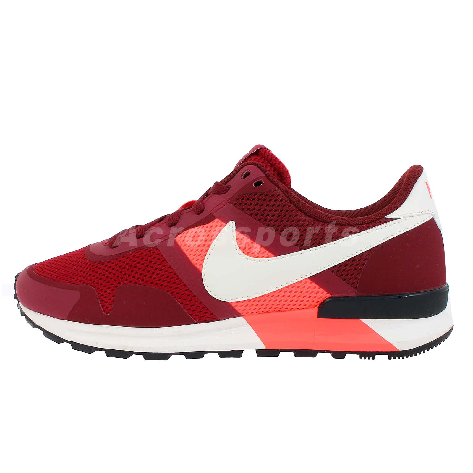 16ce1450f0c Dettagli su Nike Air Pegasus 83 30 Red New Running Shoes NSW