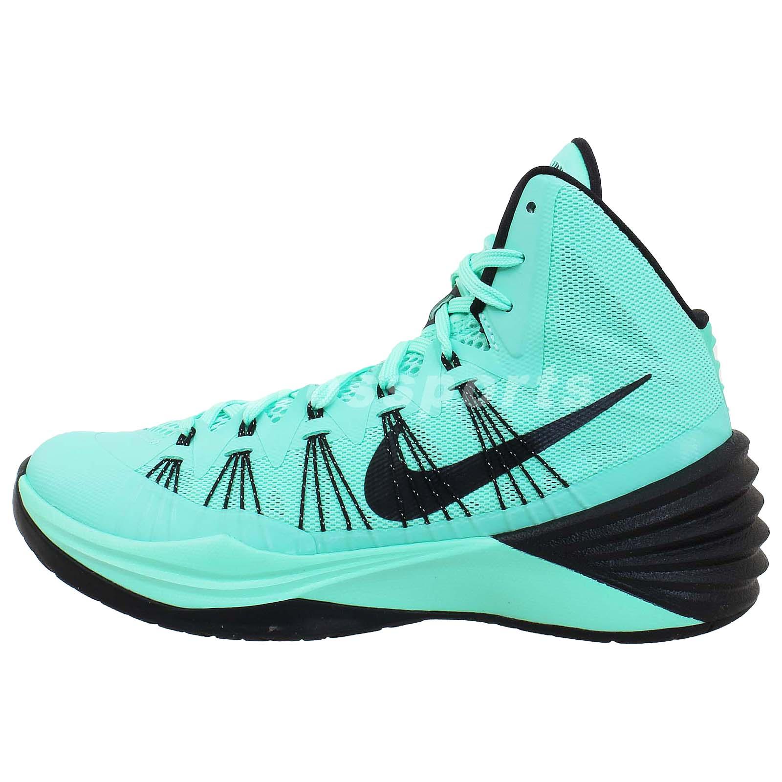 Nike Hyperdunk 2013 Green Glow Black Lunar Flywire Mens ...