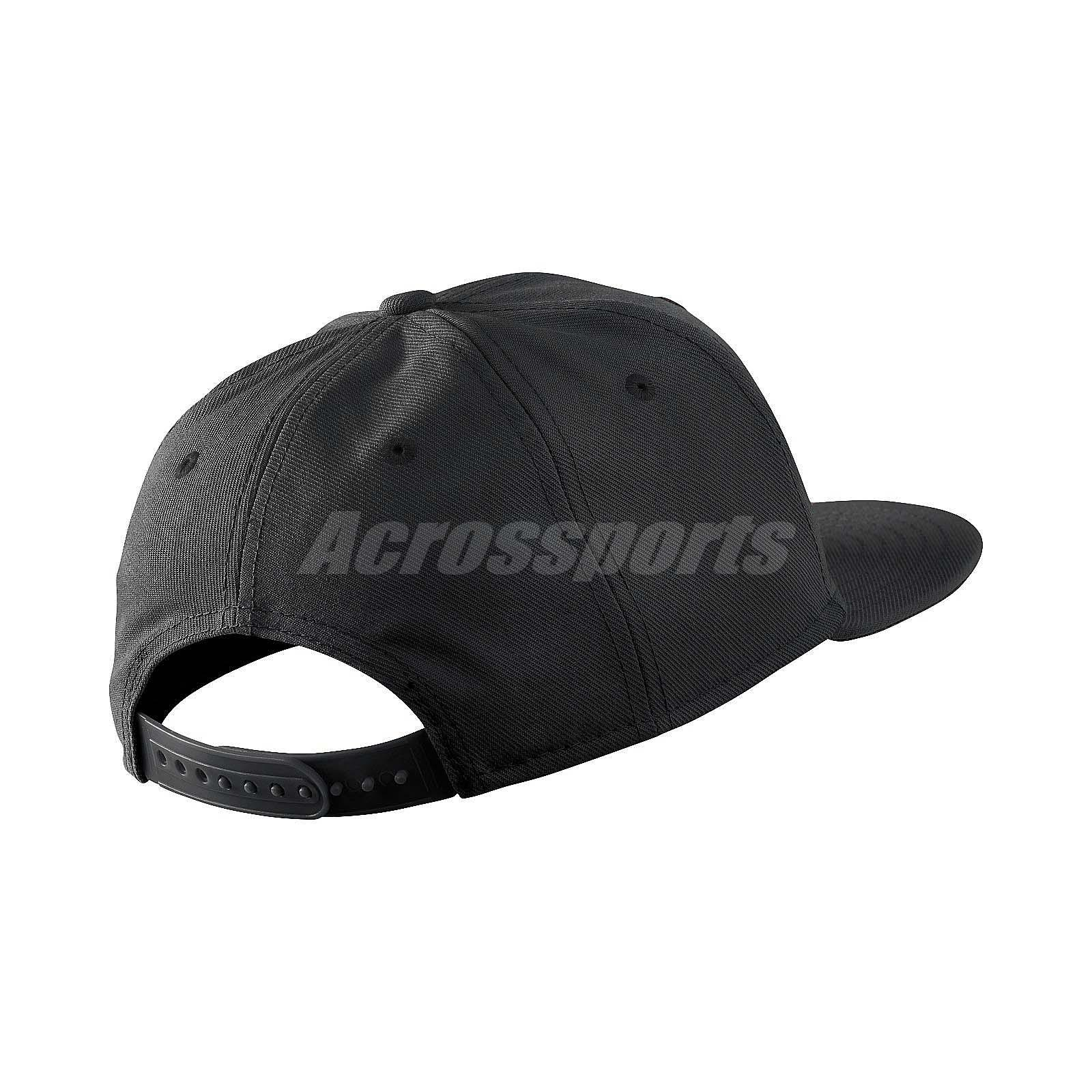Nike True Cap Futura Snapback Hat Black White Sports Running ... cdd3a70616f7