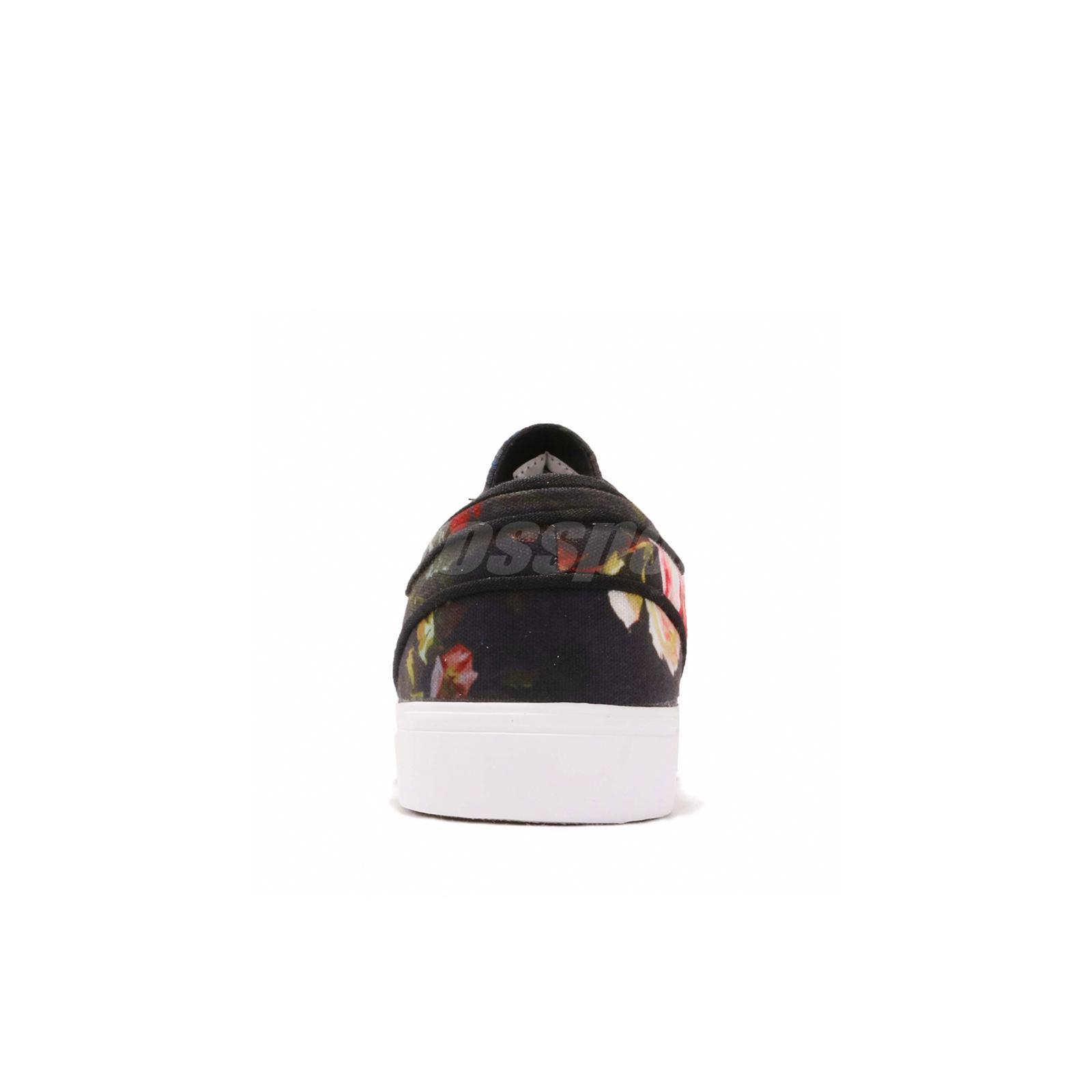 Details about Nike SB Zoom Stefan Janoski Canvas Black Floral Skateboarding Shoes 615957 900
