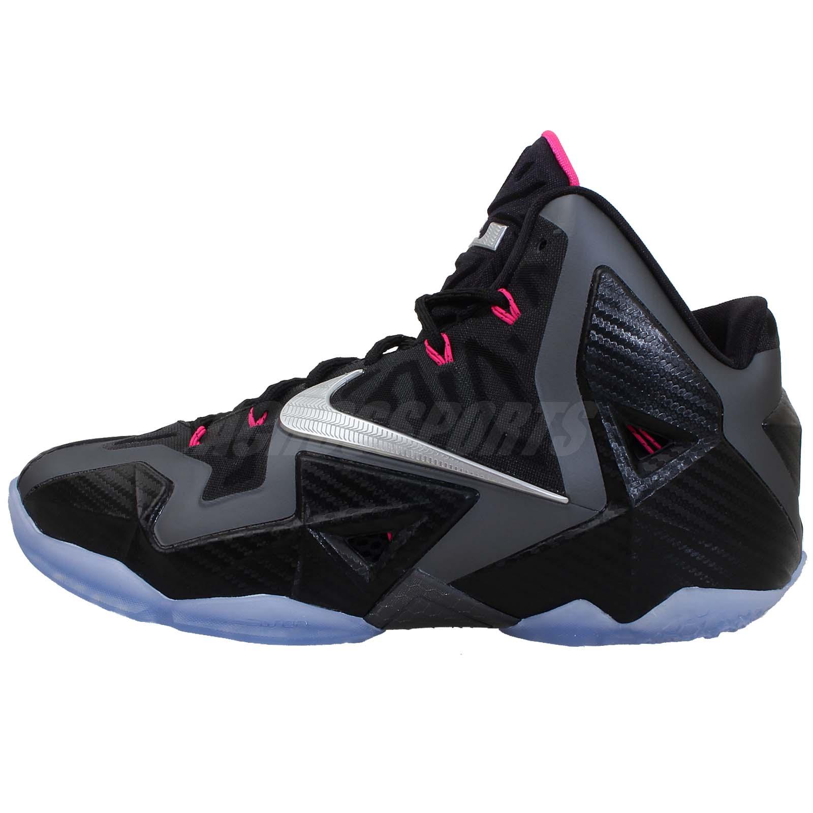 5838985bf354 Nike Lebron XI 11 Miami Nights Carbon Fiber King James LBJ