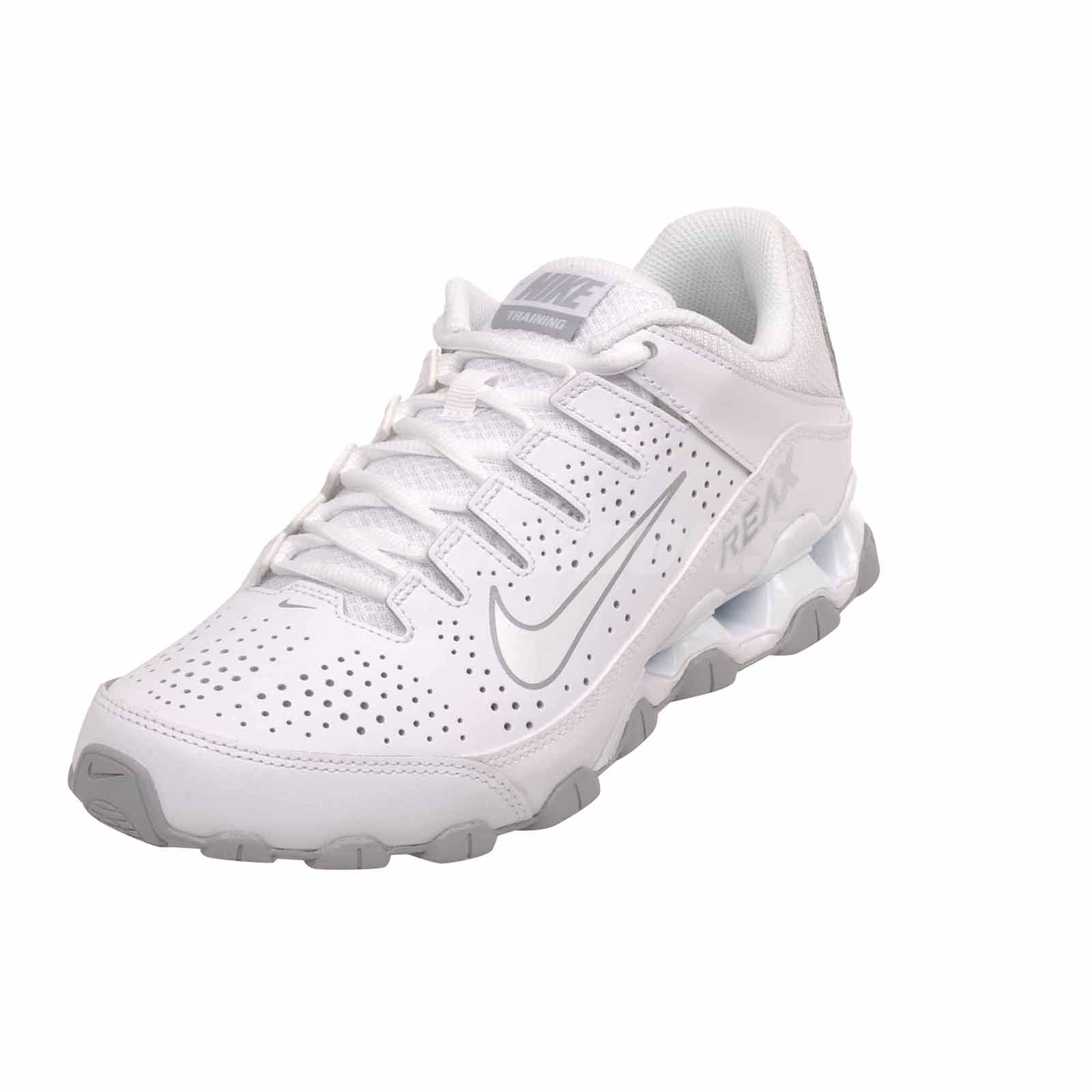 be2a59235d0 Nike Reax 8 TR Cross Training Mens Trainers Shoes White 616272-101 ...
