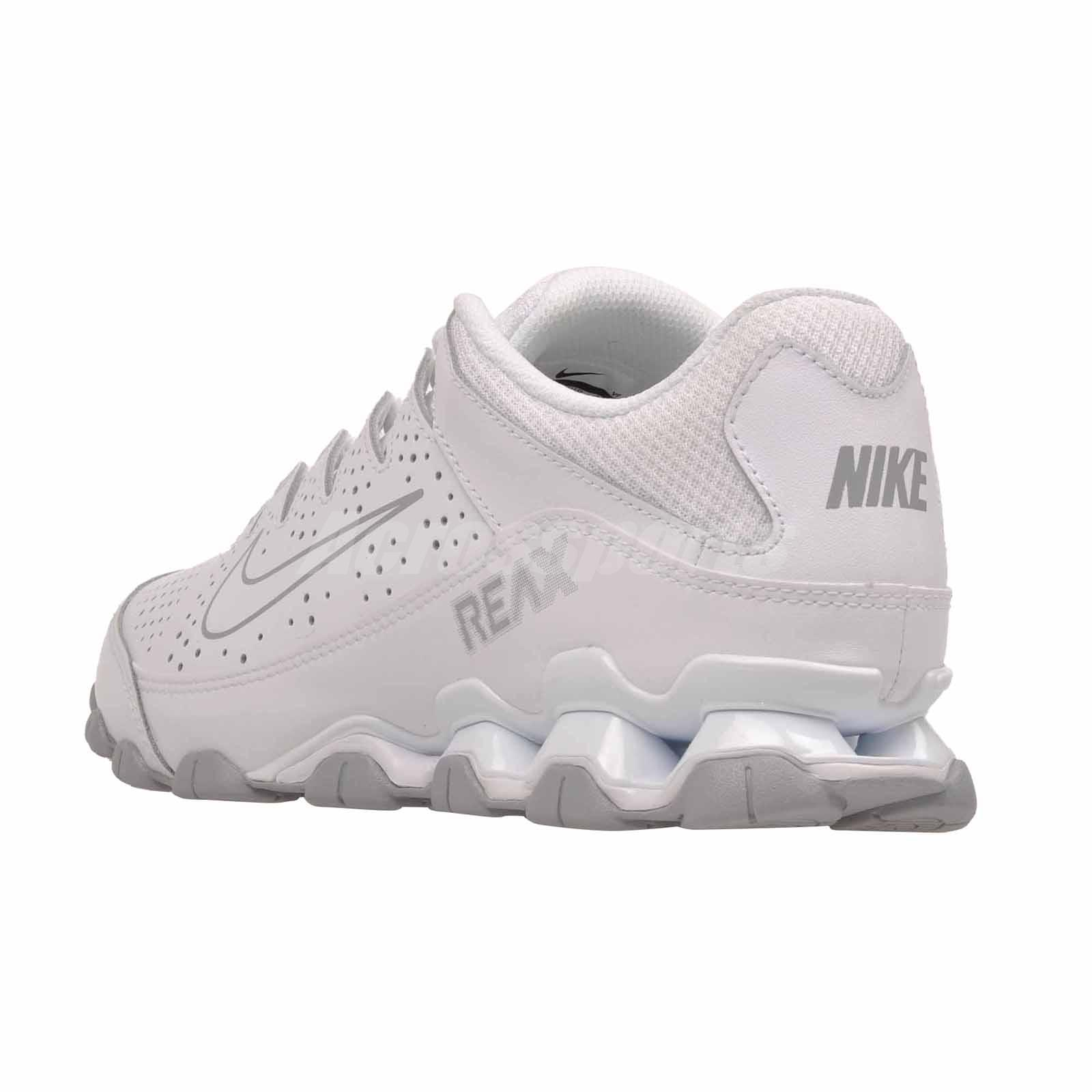 c9e2e91a243 Details about Nike Reax 8 TR Cross Training Mens Trainers Shoes White  616272-101