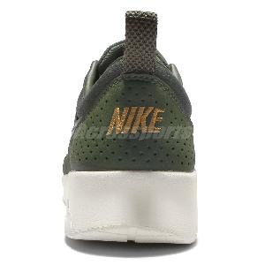 new york d3319 7badc 2017 sneaker 6f733 ec9d4 Wmns Nike Air Max Thea PRM Carbon Green Gold  Womens Running Shoes .