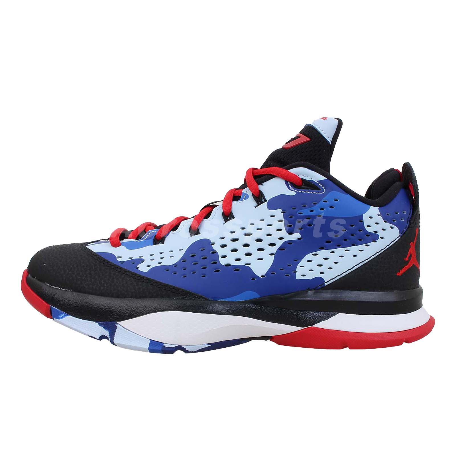 Nike Jordan CP3.VII BG 7 GS Boys Youth Chris Paul Camo ...