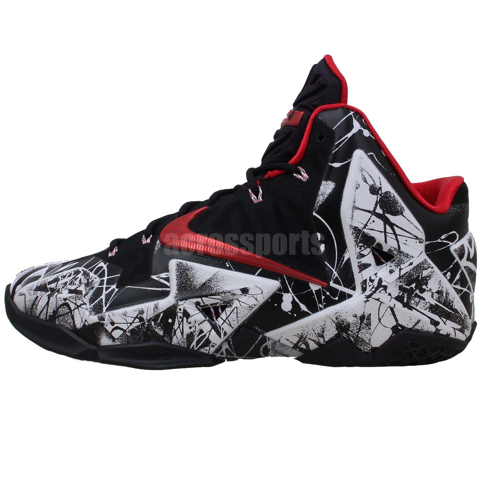 outlet store 794c2 91640 nike mens lebron Xi 11 graffiti nyc