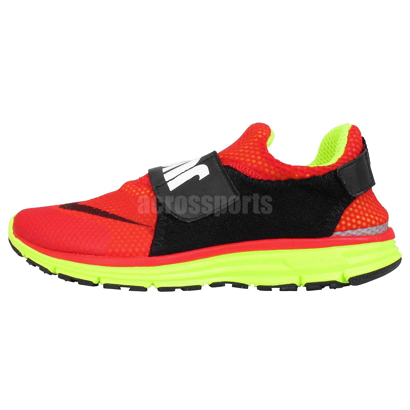 Nike Lunarfly 306 QS Red Black Volt Just Do It Velcro Mens ...