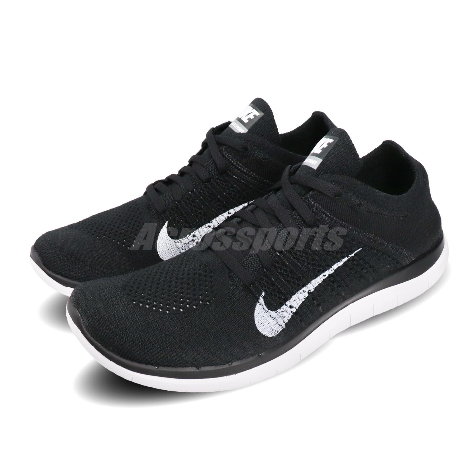 Nike Free 4.0 Flyknit 2020 Black White