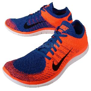 new concept 3c041 0349f Nike Flyknit 4.0 Orange And Blue endeavouryachtservices.co.uk