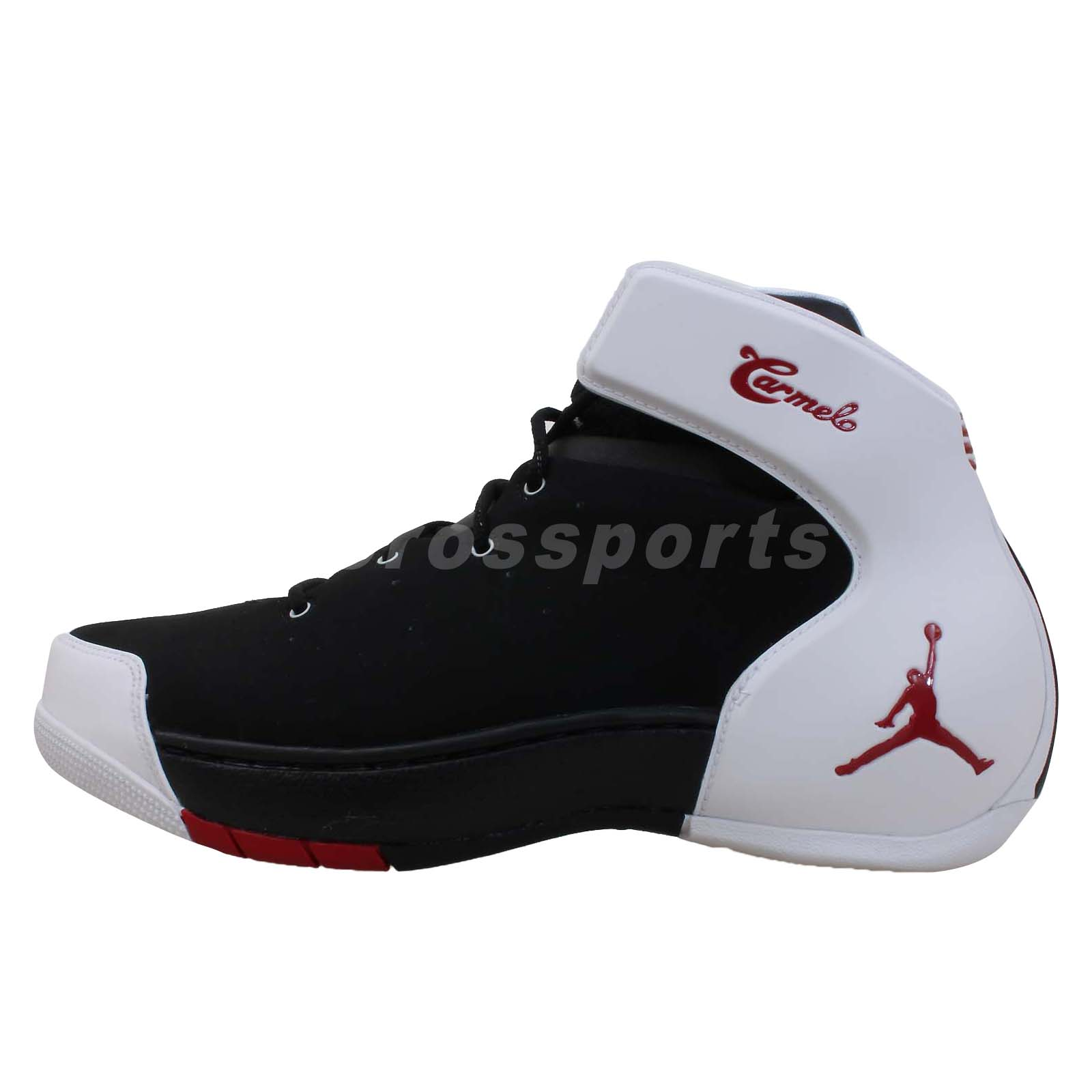 Nike Jordan Melo 1.5 Carmelo Anthony Black White Mens ...