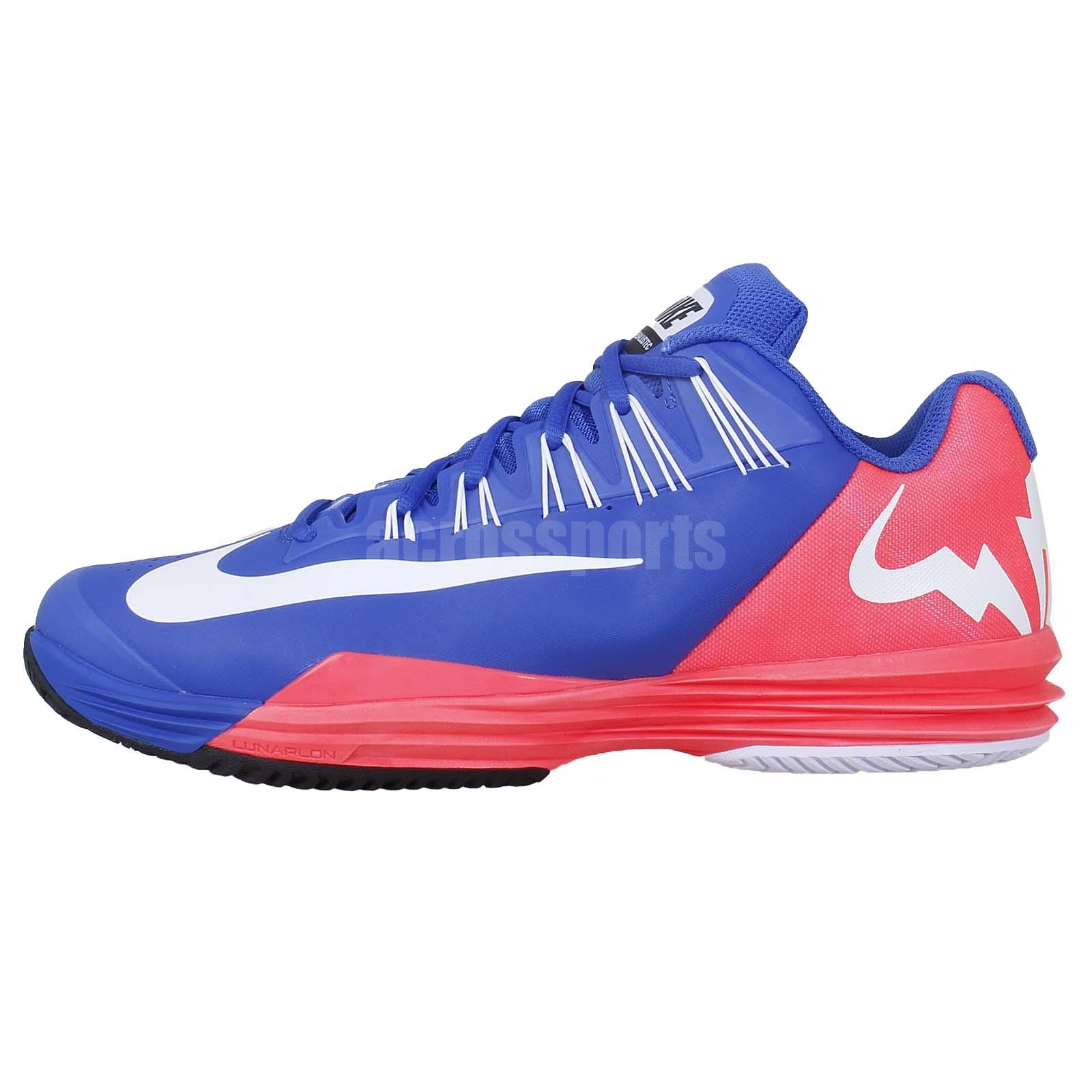 Nike Lunar Ballistec Rafael Nadal Blue Pink 2014 New Mens ...