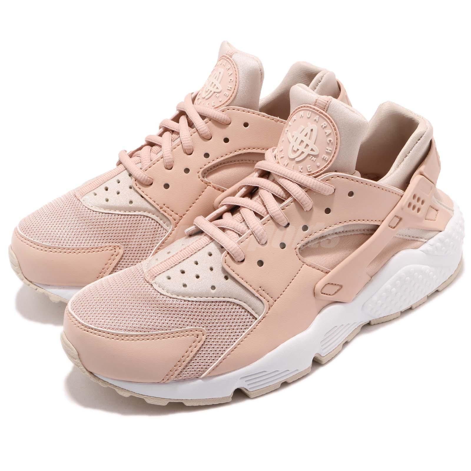 info for 103ec a61f1 Details about Nike Wmns Air Huarache Run Particle Beige Desert Sand Women  Shoes 634835-202