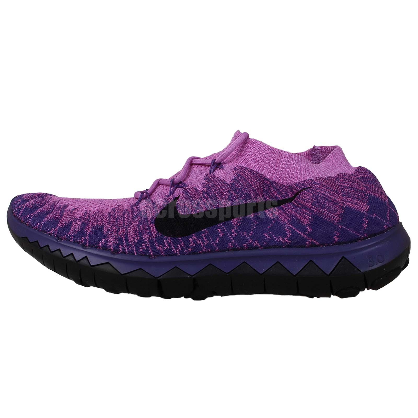 Nike Wmns Free 3.0 Flyknit Run Purple Black 2014 Womens ...