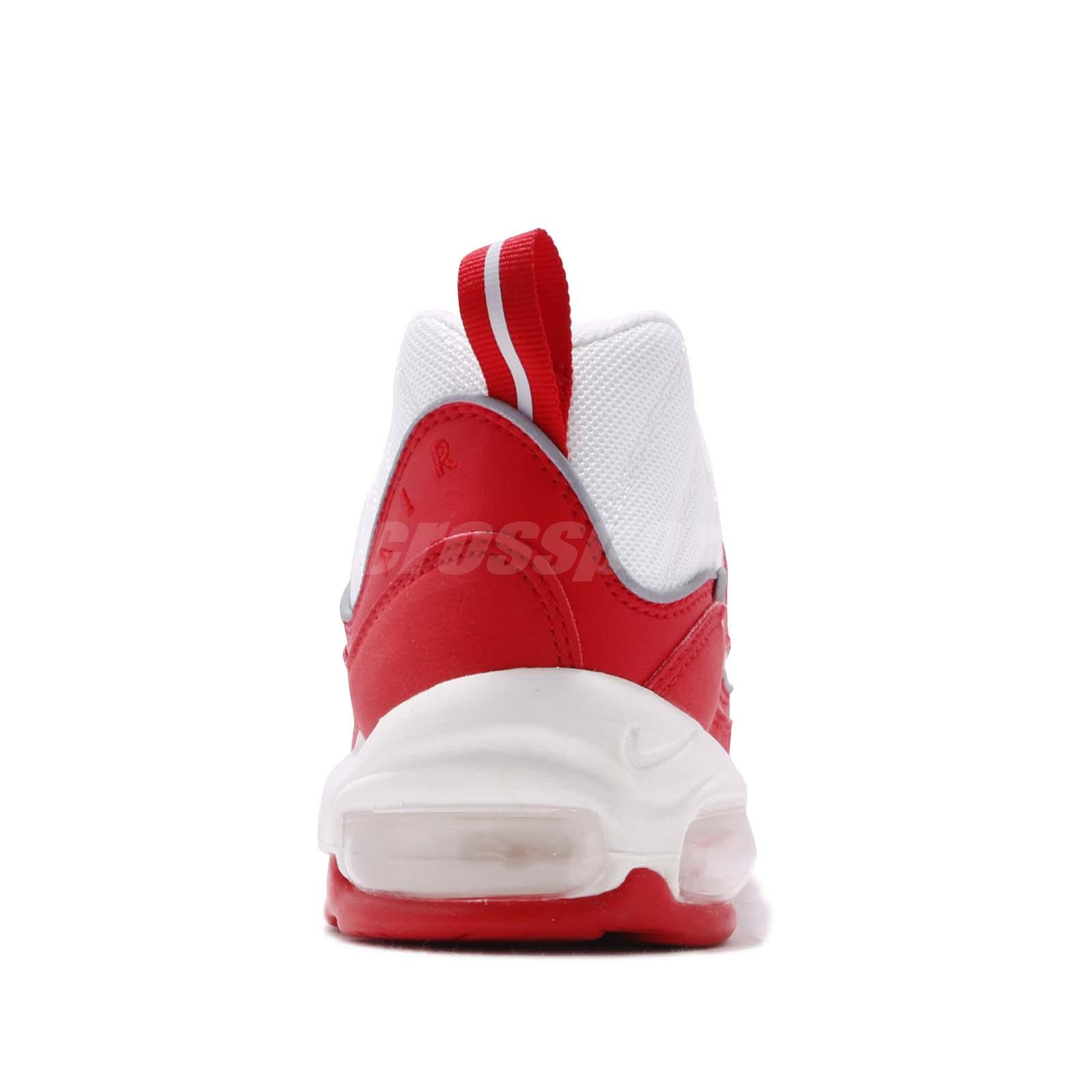 official photos 20d33 4bc34 Nike Air Max 98 University Red White Mens Running Shoes NSW Sneakers ...