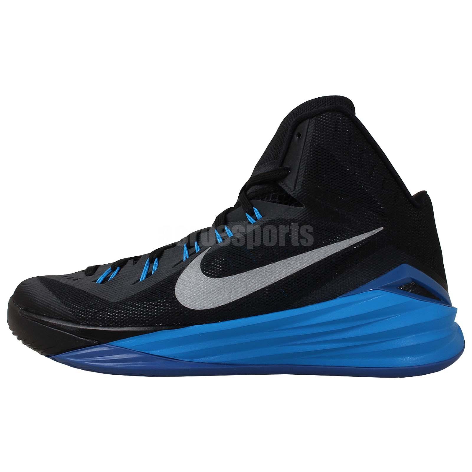 Nike Hyperdunk 2014 PE Paul George Blue Yellow Pacers ... |Paul George Shoes Hyperdunk 2014