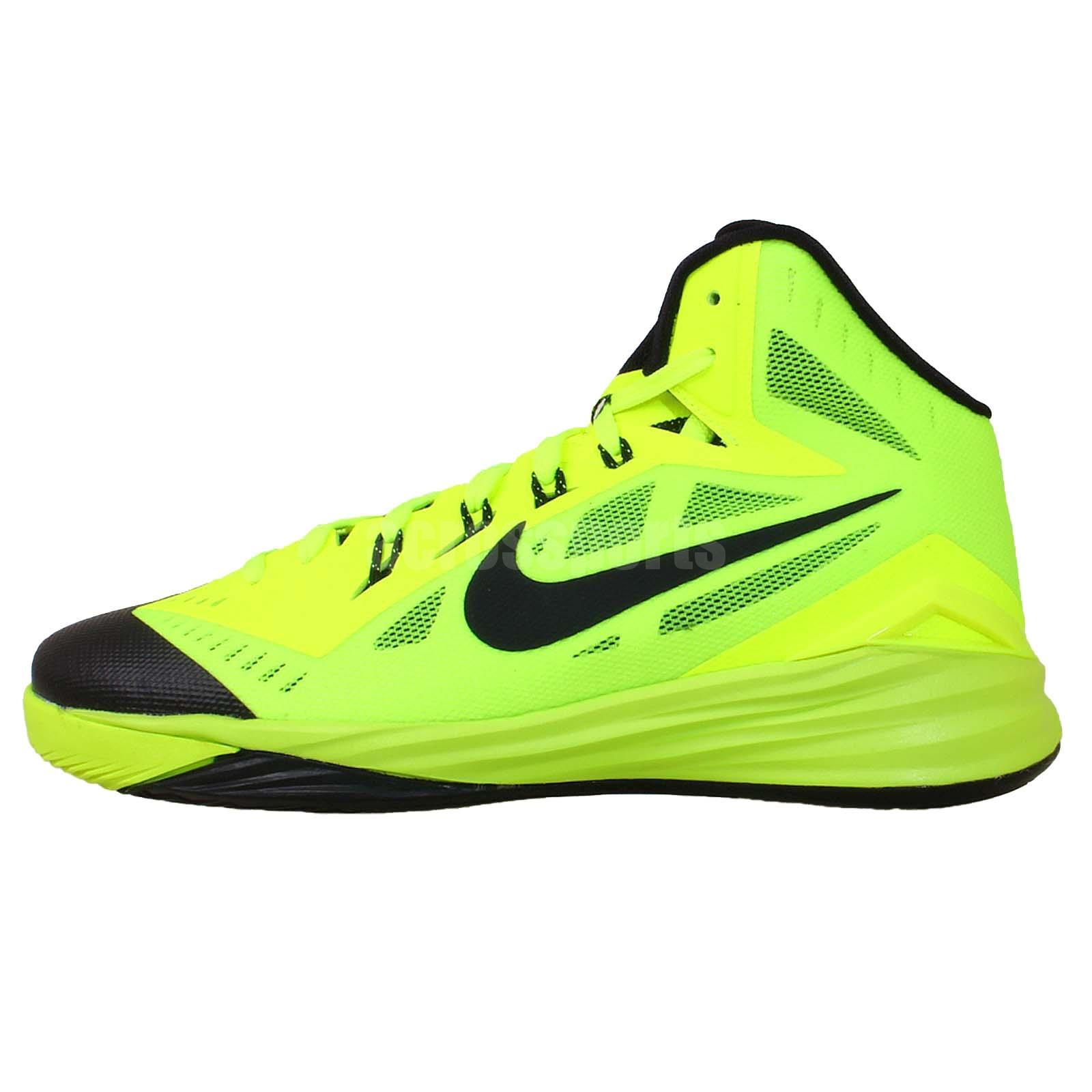 Nike Hyperdunk 2014 GS Volt Black 2014 Boys Youth ...