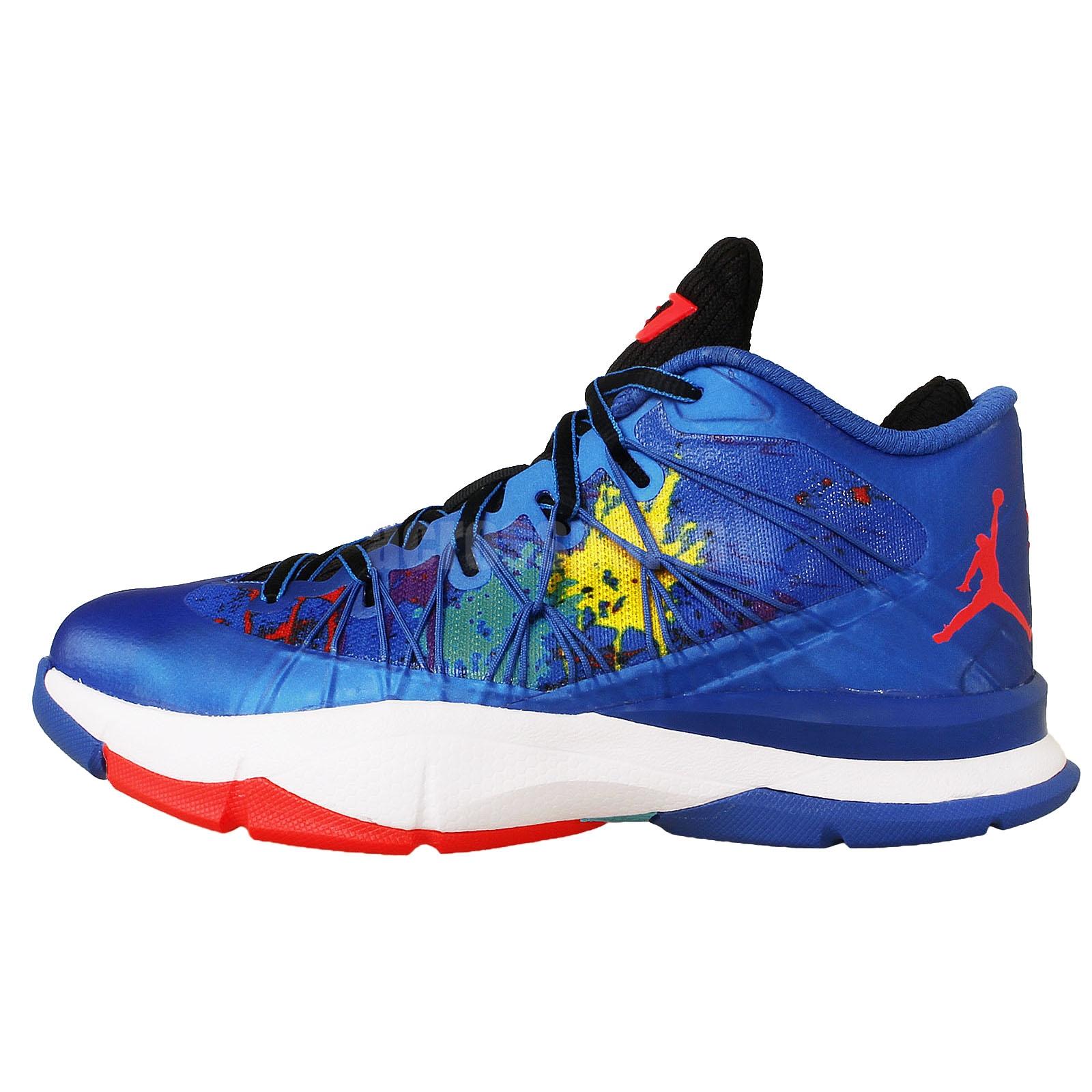 Nike Jordan CP3.VII AE BG GS Blue 2014 Chris Paul Youth ...