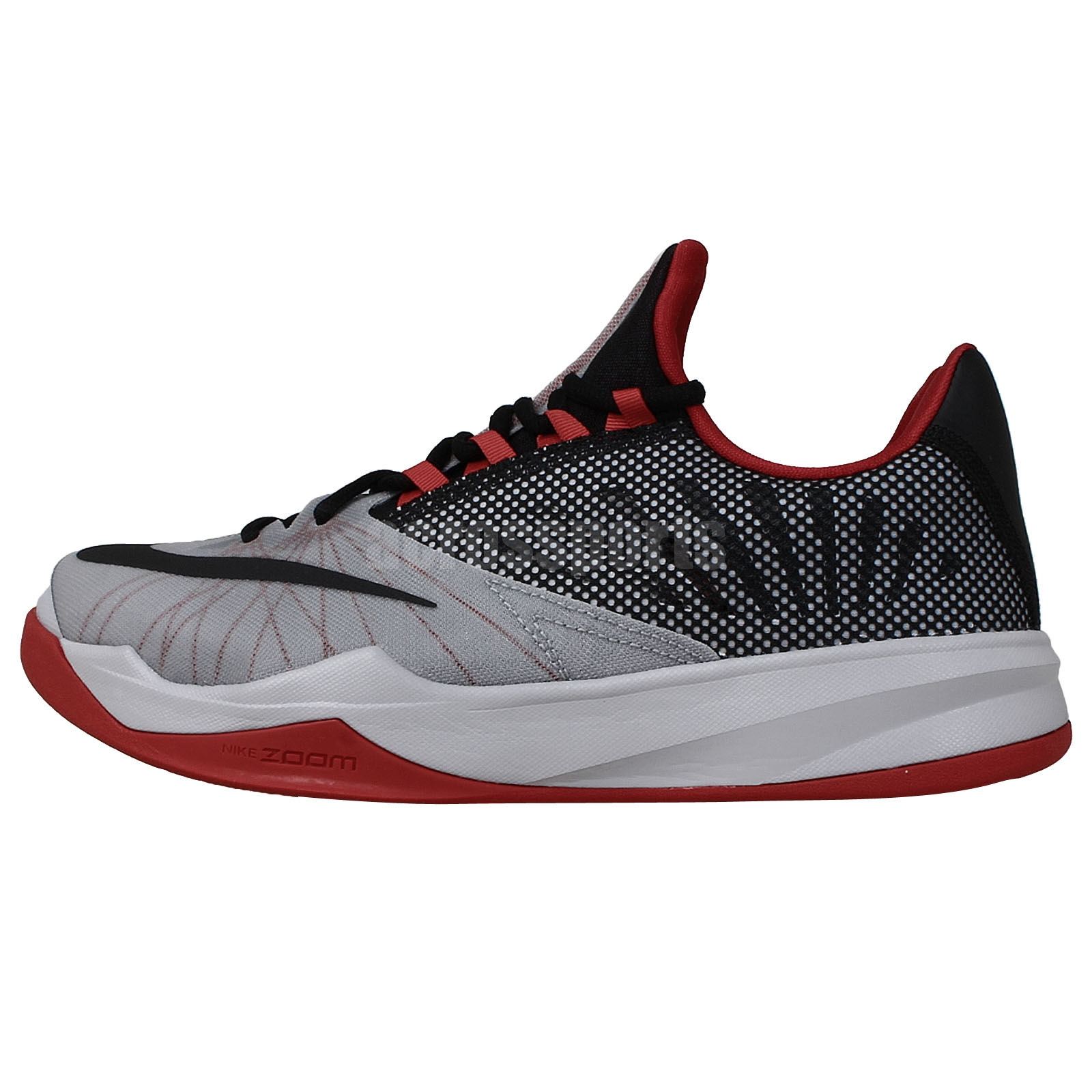 James Harden Kid Shoes: Nike Zoom Run The One EP James Harden Grey Red 2014 Mens