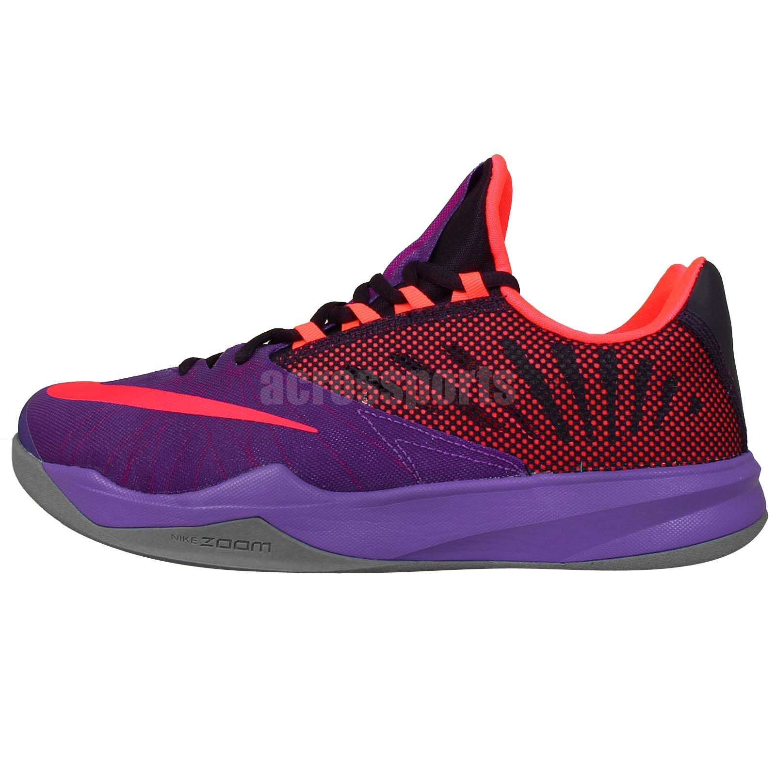 James Harden Kid Shoes: Nike Zoom Run The One EP James Harden Purple Pink 2014
