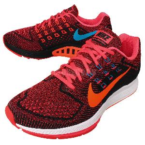 c3568a581f8d ... coupon nike air zoom structure 18 red orange black mens running shoes  683731 600 3b04c 810f2
