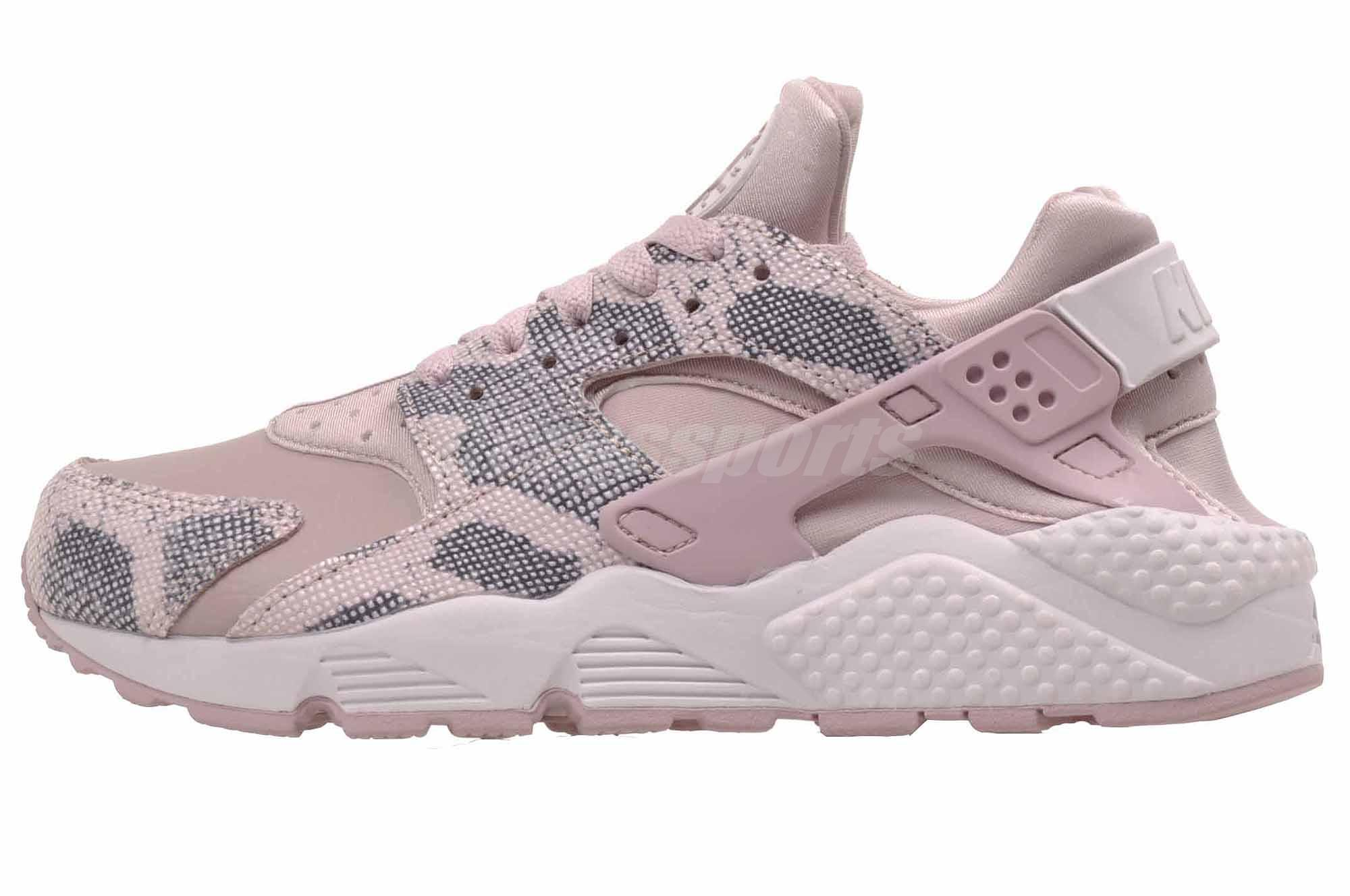 98e5da56afc4 Nike Wmns Air Huarache Run PRM Running Womens Shoes Rose 683818-602 ...