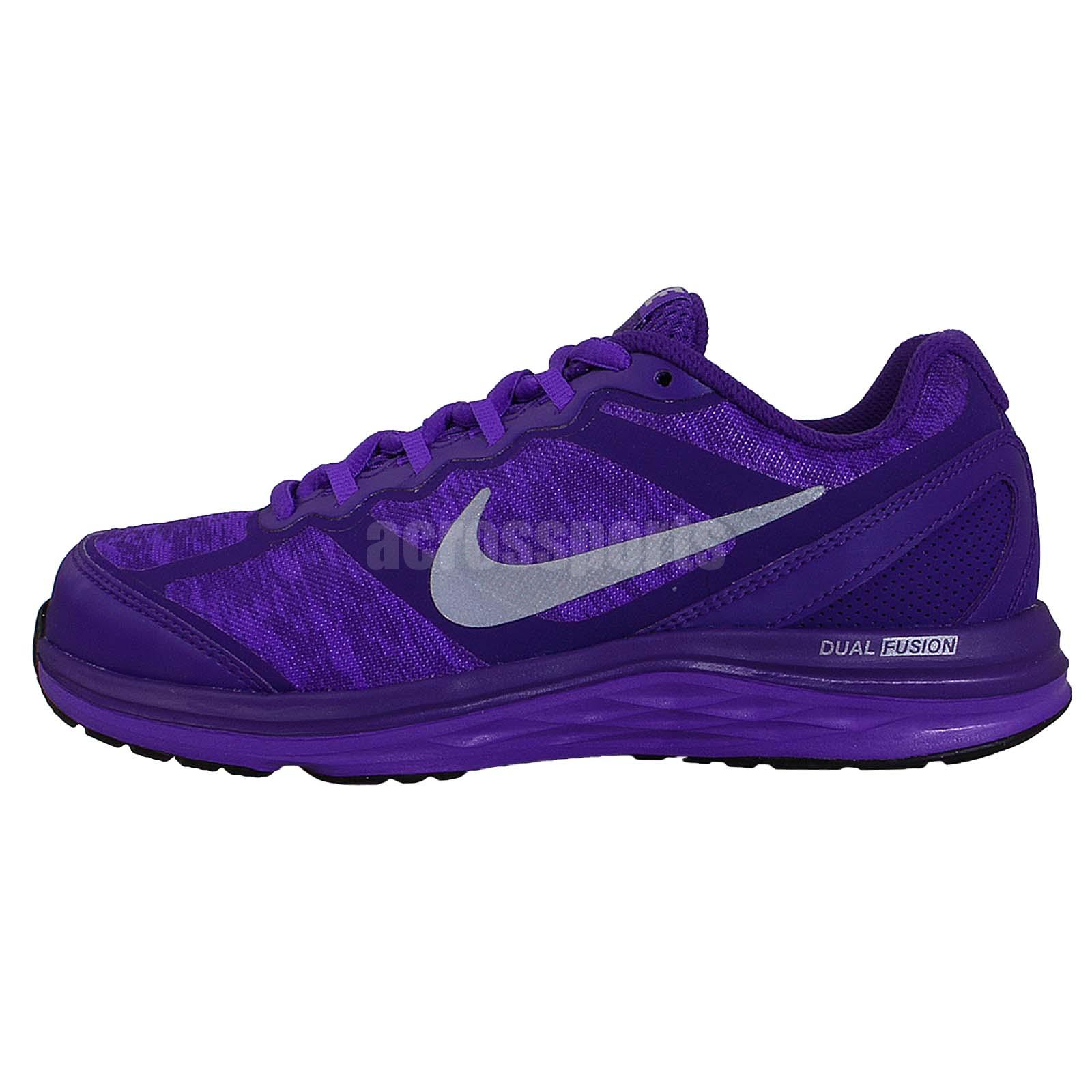 Nike Wmns Dual Fusion Run 3 Flash Purple 2014 Womens ...