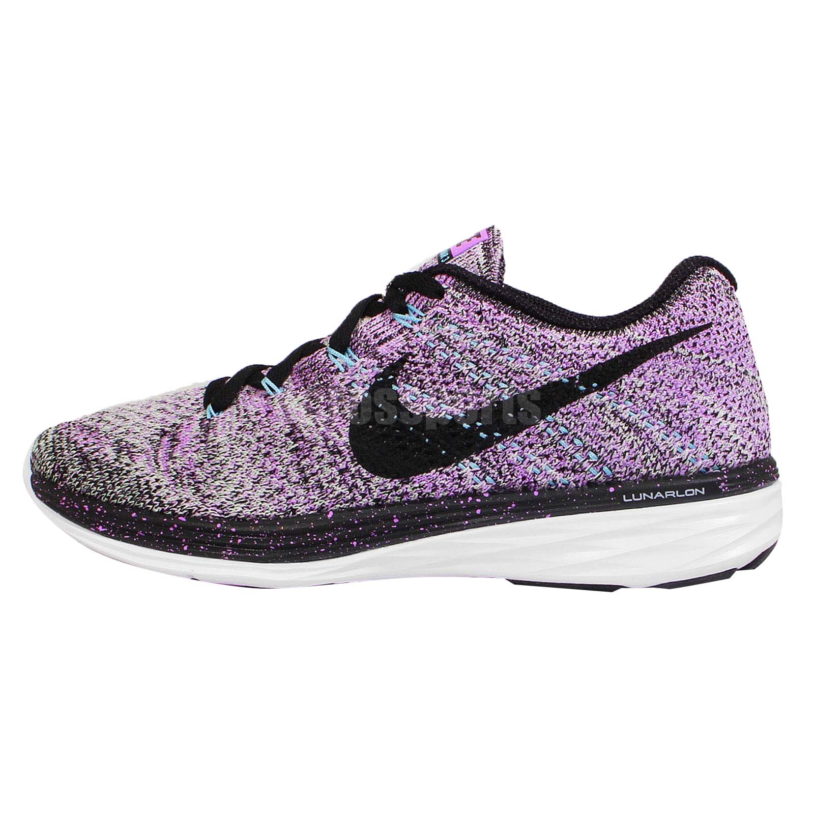 newest collection 60326 8cf81 black and purple splatter free runs